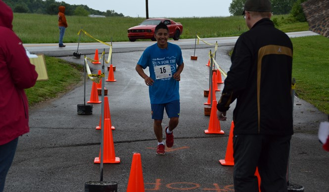 The 4th annual Healthy Hometown 5K Run for the Roses was held on May 6th.