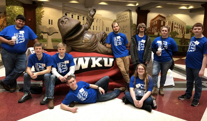 CCHS students attend the annual WKU Quiz Bowl.