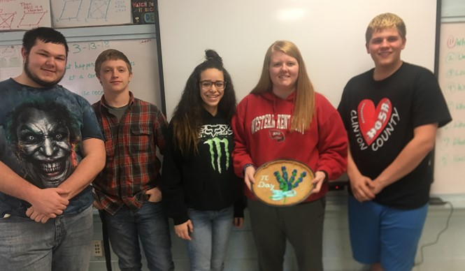 CCHS geometry students celebrate Pi Day!
