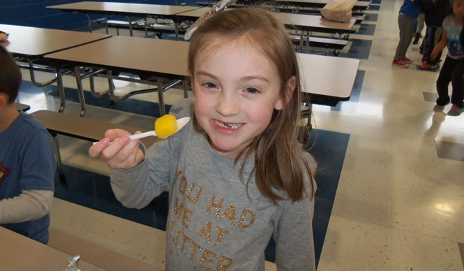 Broccolini and mangoes were featured at ECC and AES on Try Day!