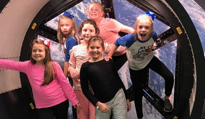 Gifted & Talented students attend Surveyor Space Camp at the U.S. Space and Rocket Center in Huntsville, Alabama.