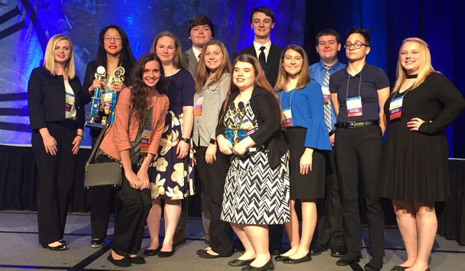 CCATC FBLA members compete at the State FBLA Leadership Conference.