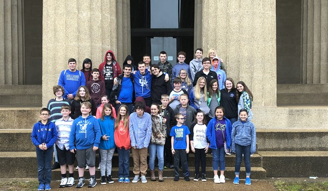Students in the Gifted and Talented program traveled to Nashville, Tennessee to visit the Vanderbilt Dyer Observatory and the Parthenon.