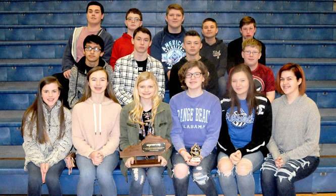 The Clinton County Middle School Academic Team won 1st place at District Governor's Cup!