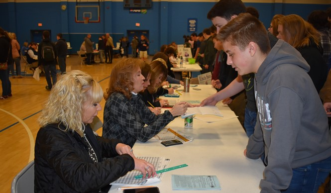 "Students got a taste of the ""Real World"" during Reality Town 2019 at Clinton County Middle School."