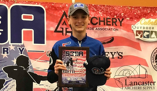 Congratulations to CCMS 8th grader Asa Flowers on capturing the S3DA Indoor National Champion title in Middle School Open!