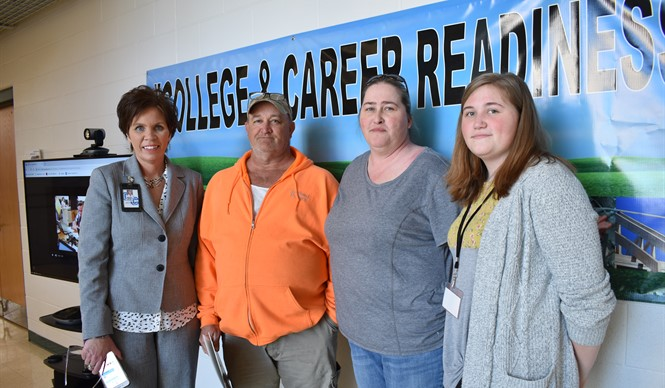 The Southern Kentucky Early College & Career Academy  held a Career Academy Induction Ceremony and Open House on Tuesday, March 26th.