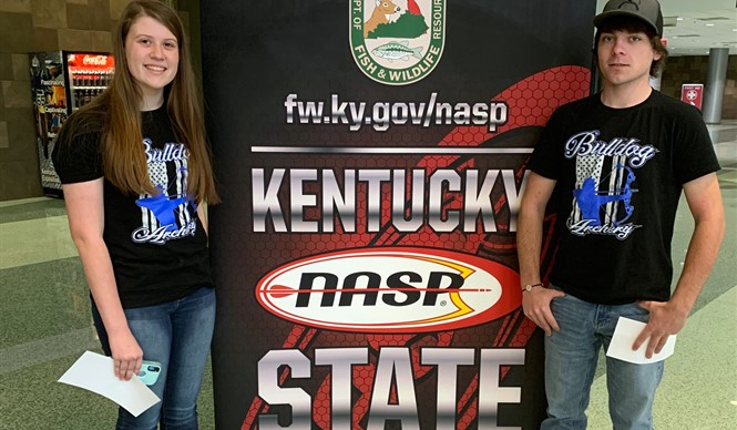 Congratulations to CCHS archers Christin Shelton and Ethan Shelton on representing Clinton County at the Kentucky NASP State Tournament in Louisville, Kentucky!