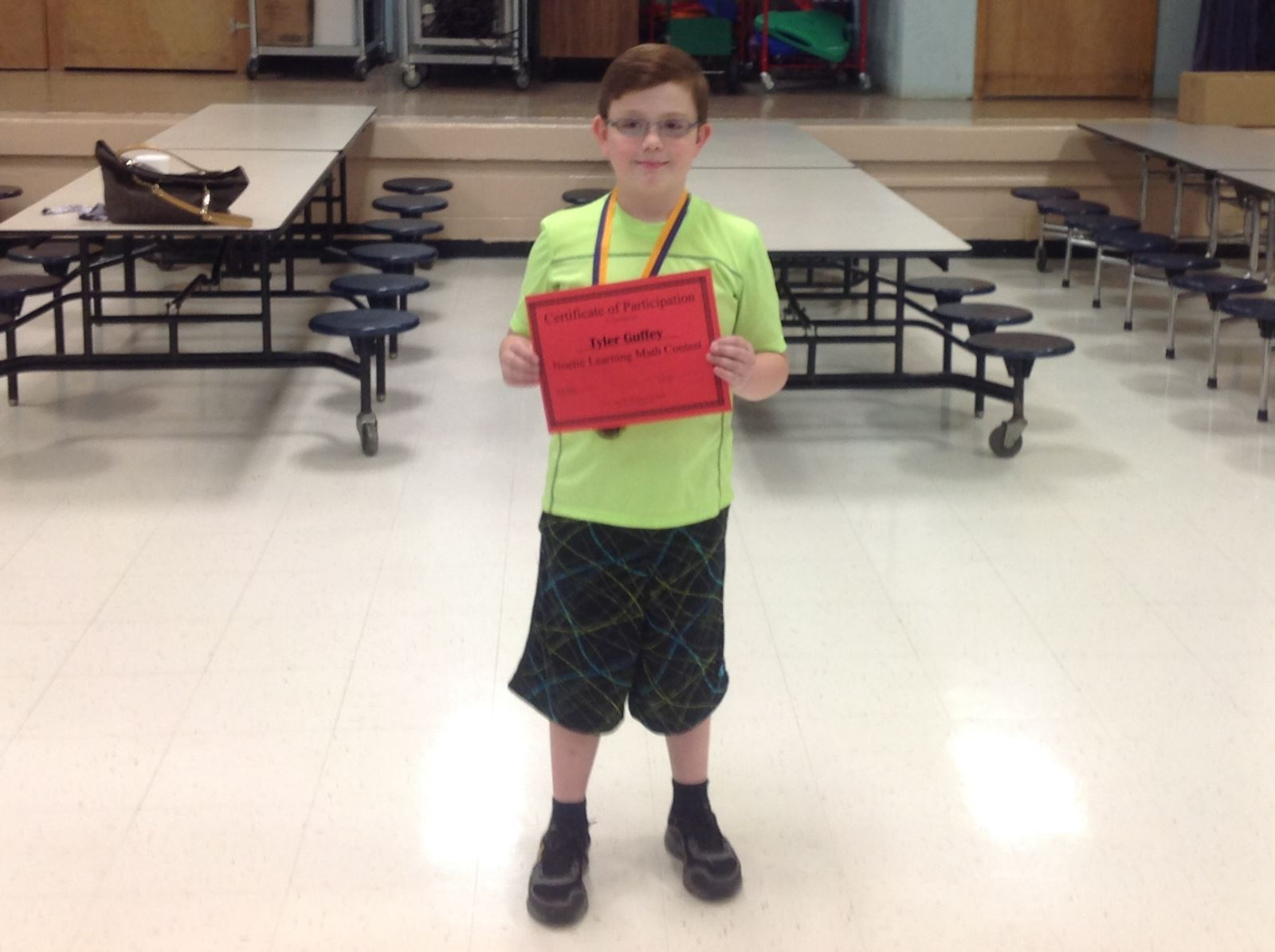 Spring Noetic Learning Math Contest Clinton County Middle School