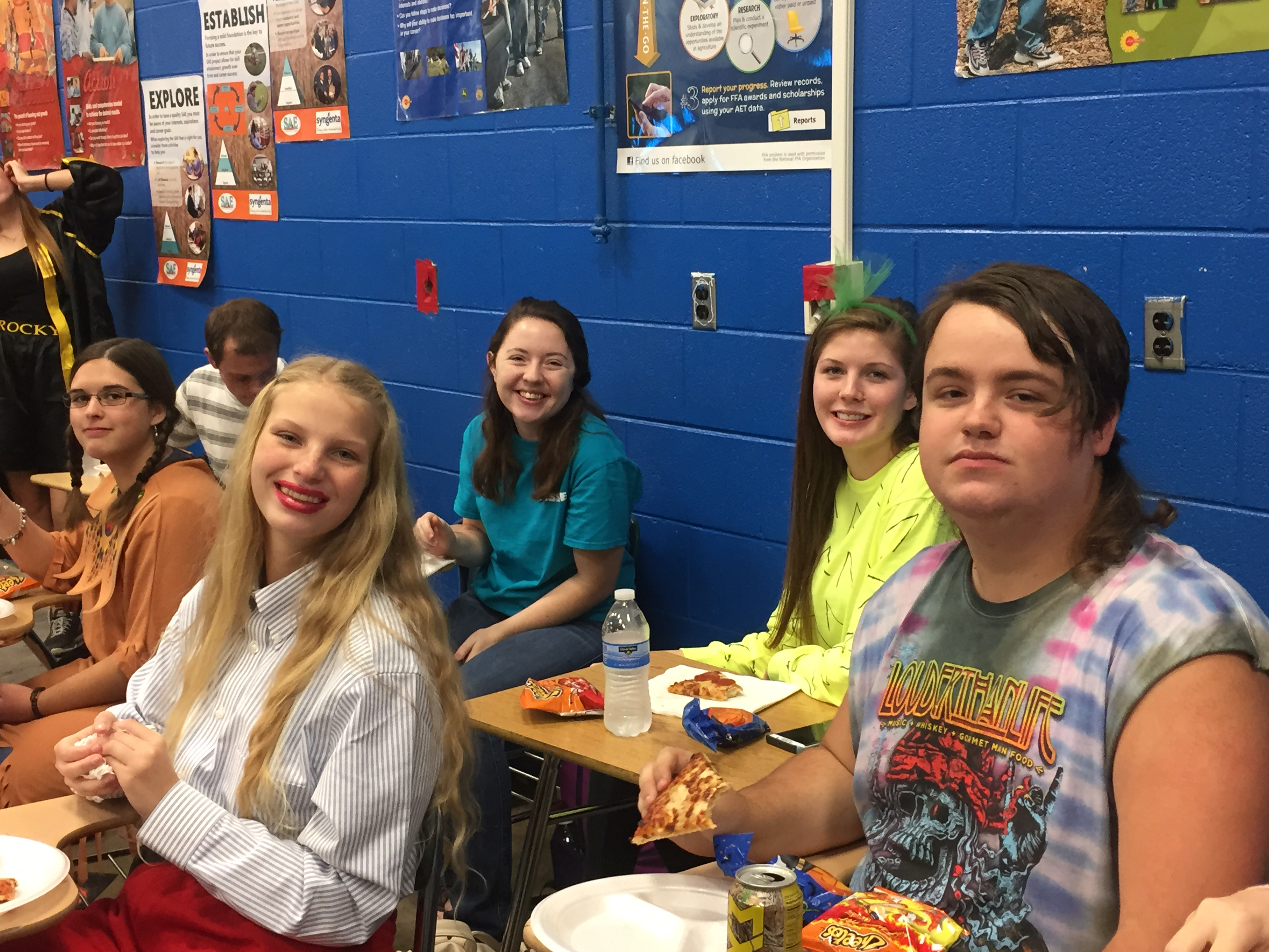 A College and Career Ready Halloween Party was held on October 31st to recognize students who have attained the level of college and career readiness as reflected in their ACT scores, Compass scores, or vocational studies exams.