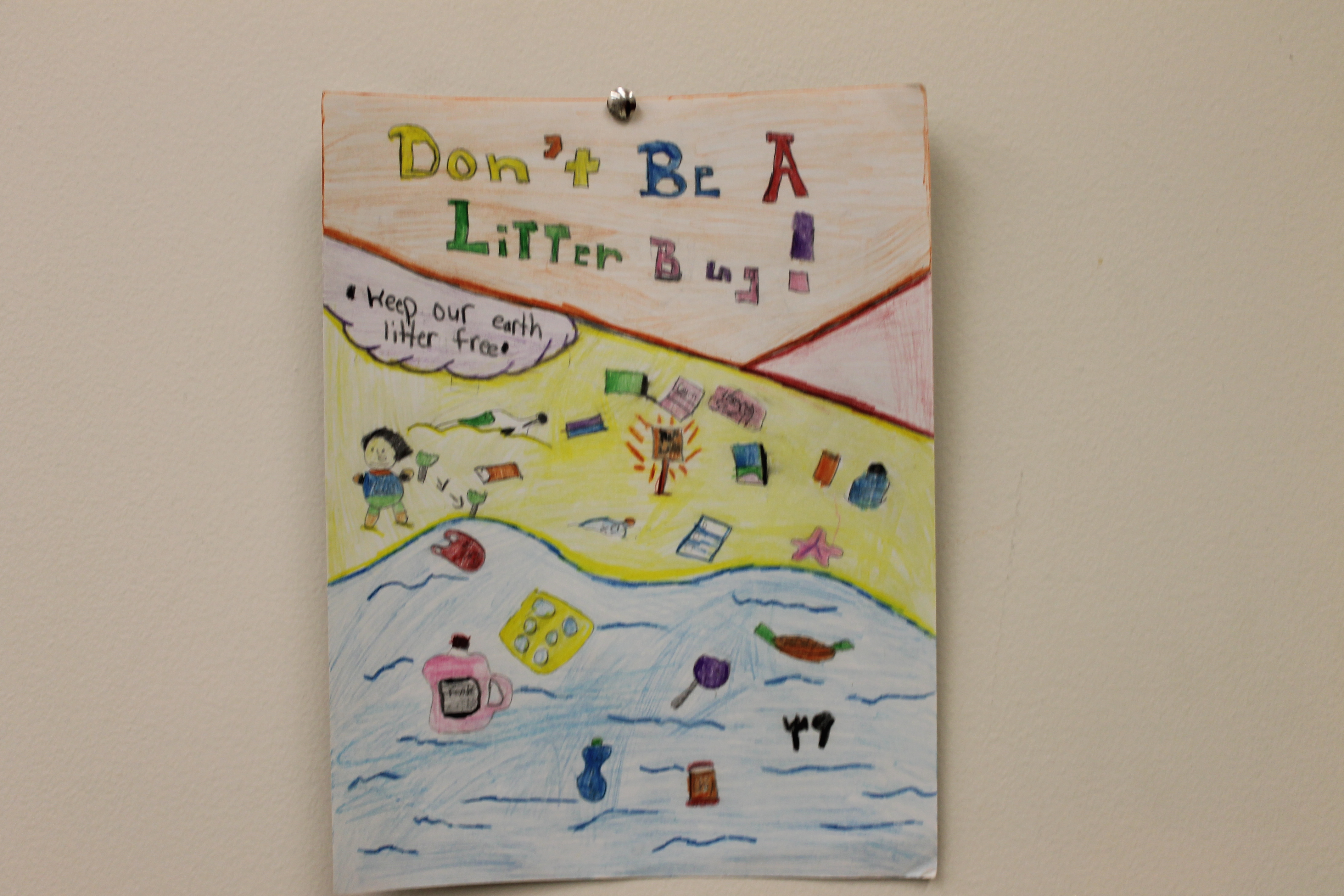 Stop Littering Albany Poster Contest Winners - Clinton ...