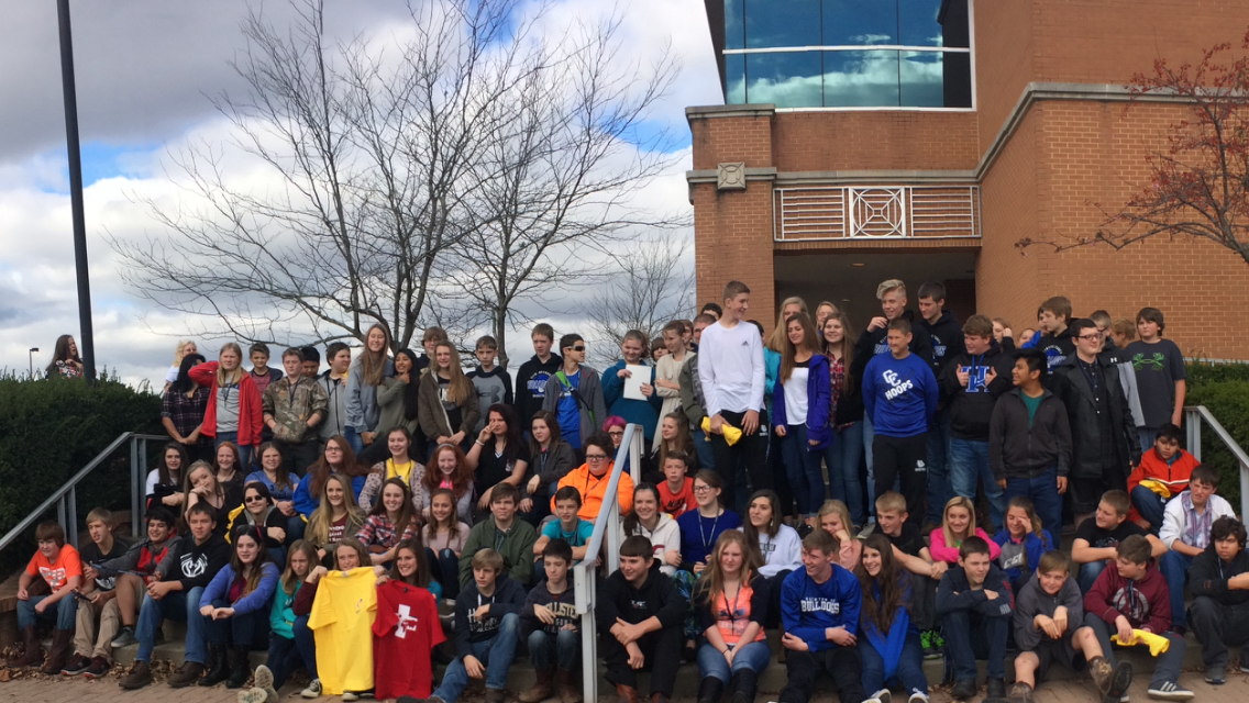 On Wednesday, November 9th, the 8th grade class at Clinton County Middle School attended a College and Career Readiness Seminar at the Center for Rural Development in Somerset.