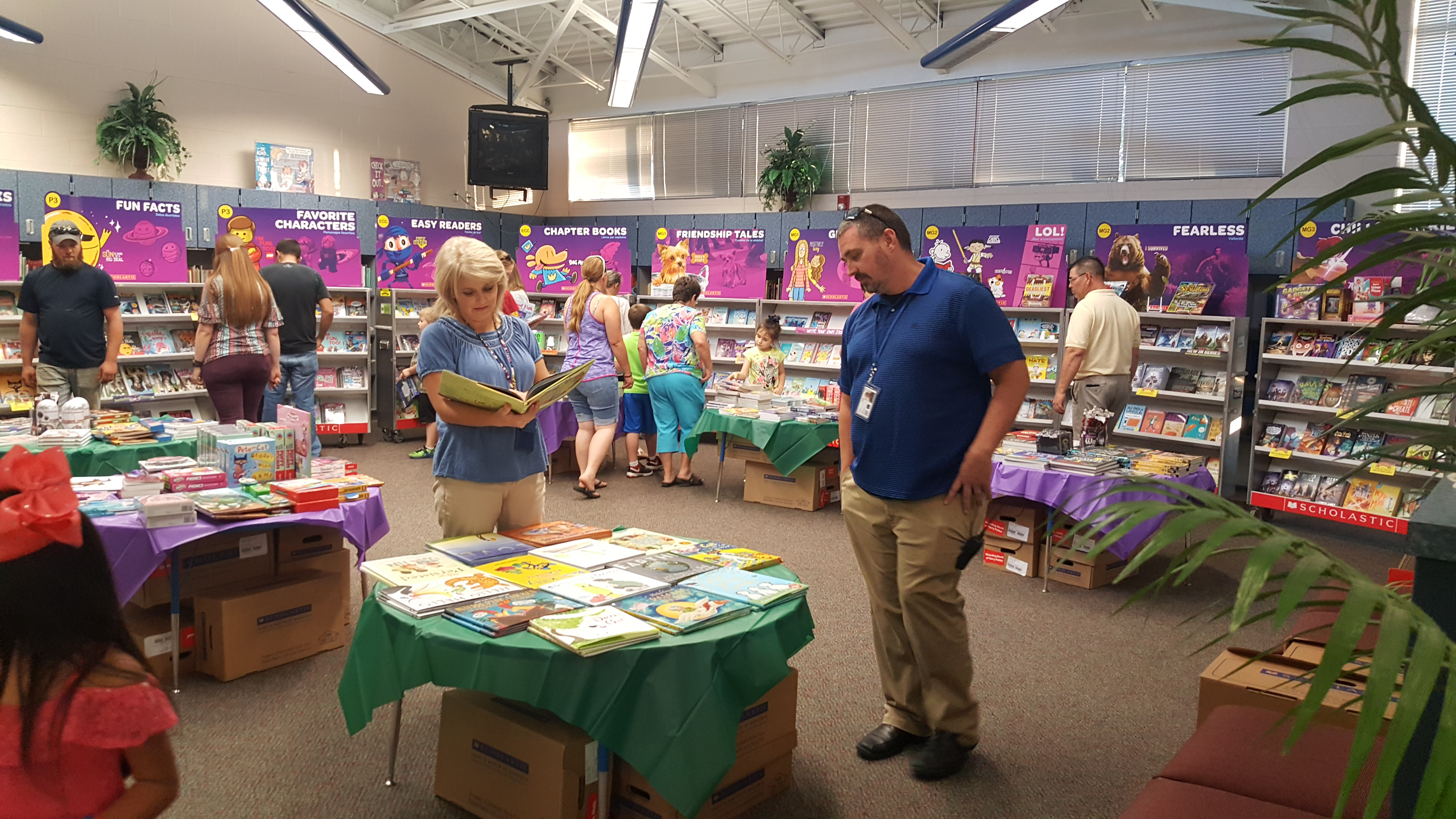 Open House / Family Literacy Night was held on October 4, 2018 at Albany Elementary School.