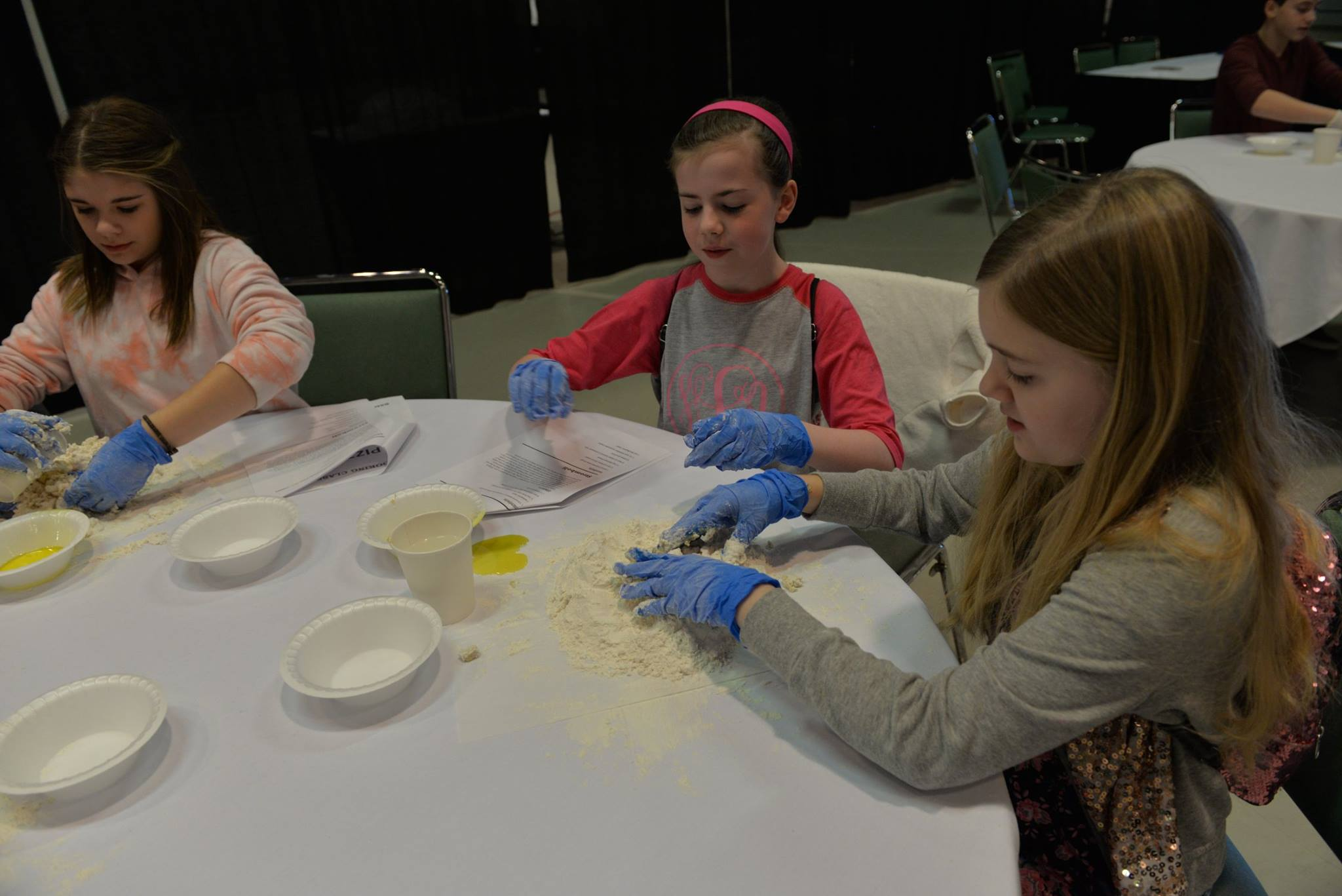 CCMS and CCHS students designed their own pizzas during a culinary arts program at The Center for Rural Development on Tuesday, January 23rd.