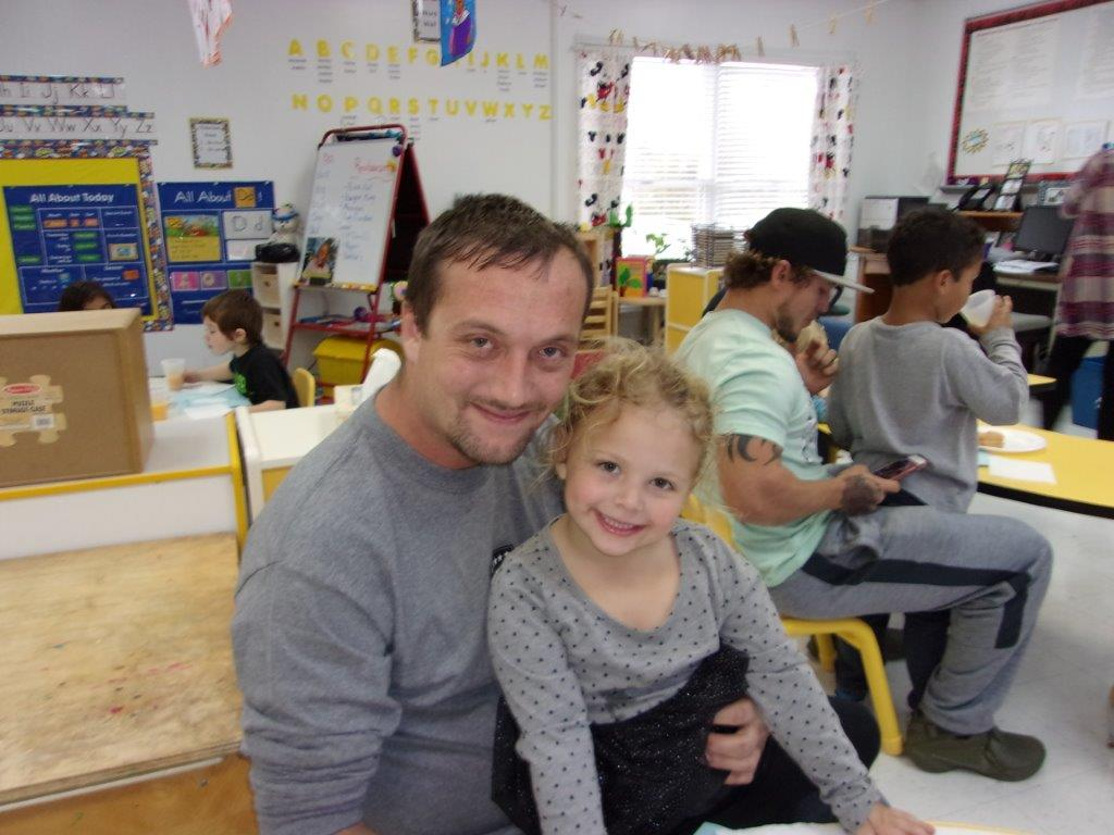 Clinton County Early Childhood Center hosted a Donuts with Dads event for preschool students on Thursday, November 2nd.