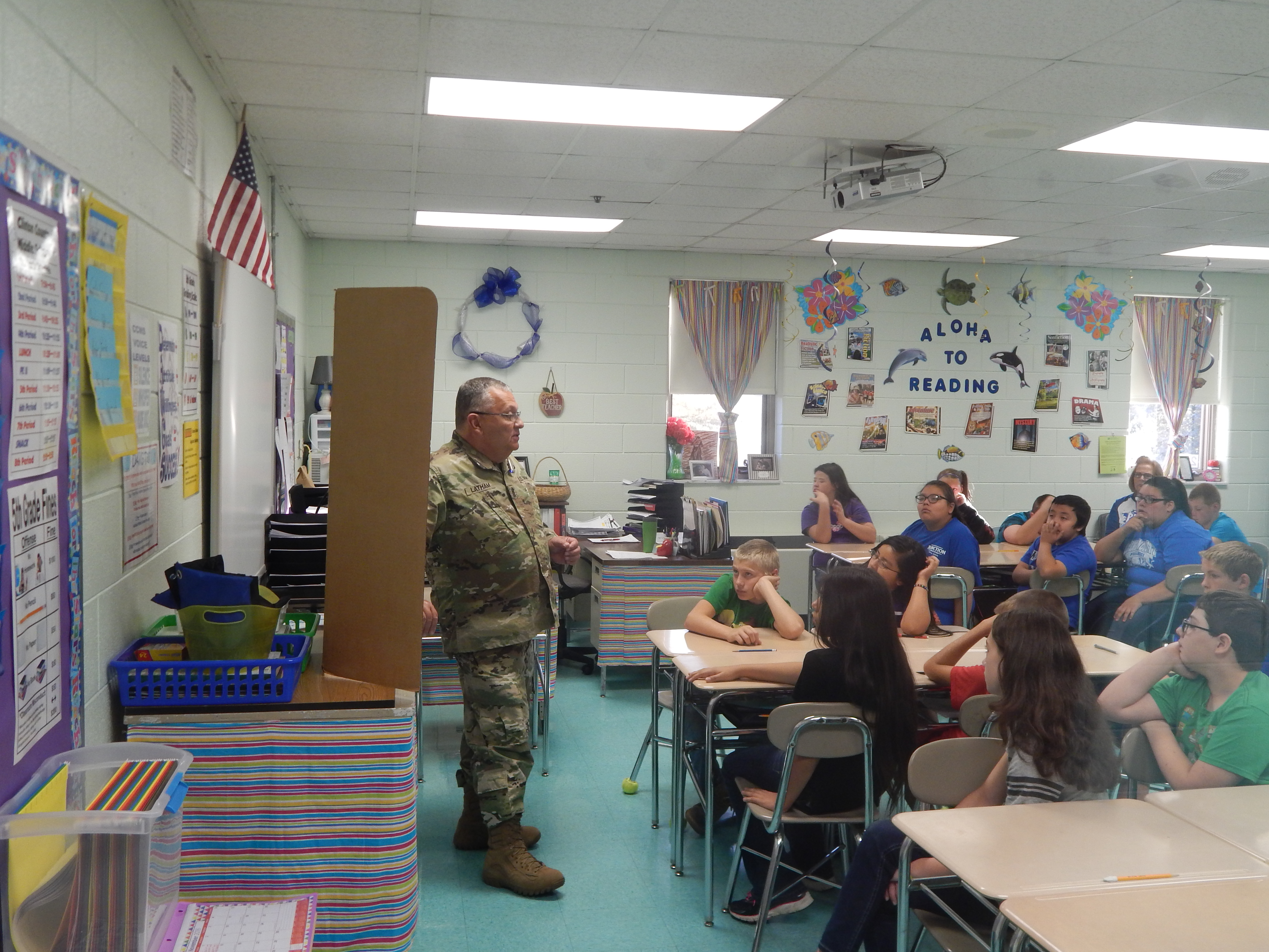 Students in 5th, 6th, 7th, and 8th grades at Clinton County Middle School were introduced to real jobs by community volunteers at Career Day on Friday, November 4th.