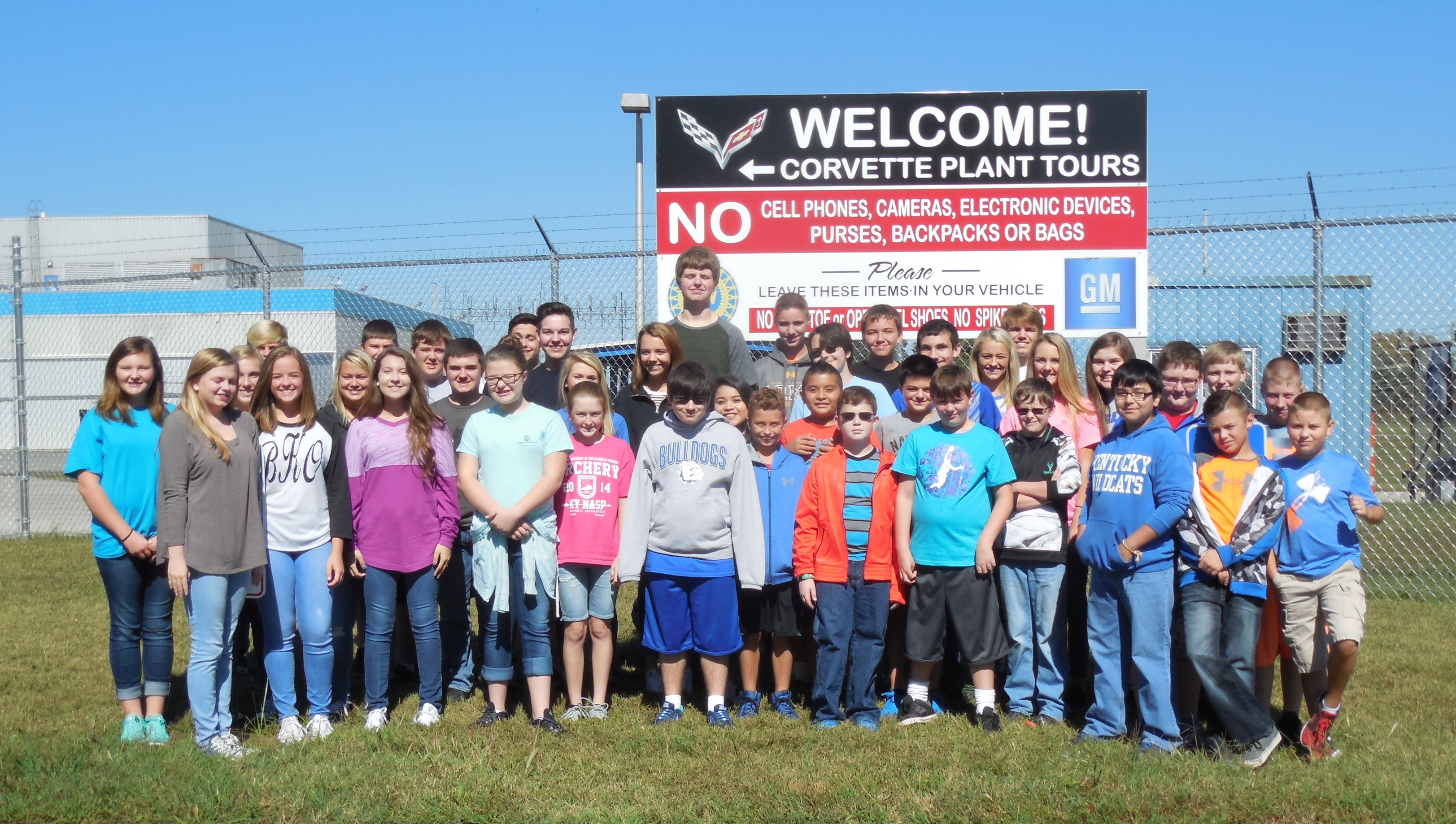 On Tuesday, September 27th, CCMS and CCHS students traveled to Bowling Green to experience the making of an American icon - the Corvette.