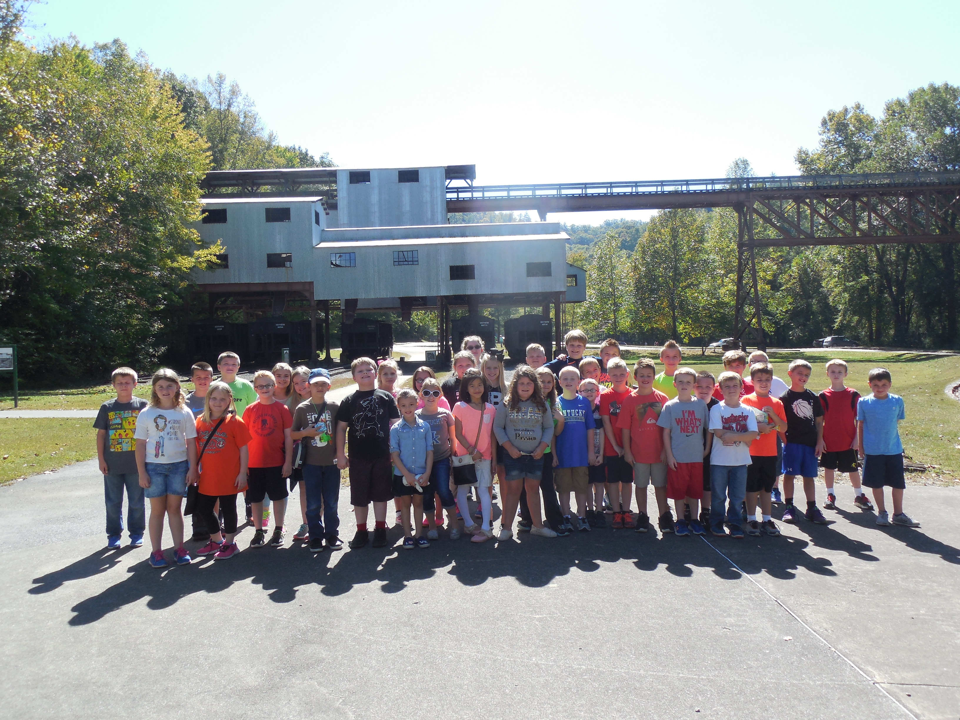 On Friday, October 7th, AES students traveled to Stearns, Kentucky to take a ride on the Big South Fork Scenic Railway.