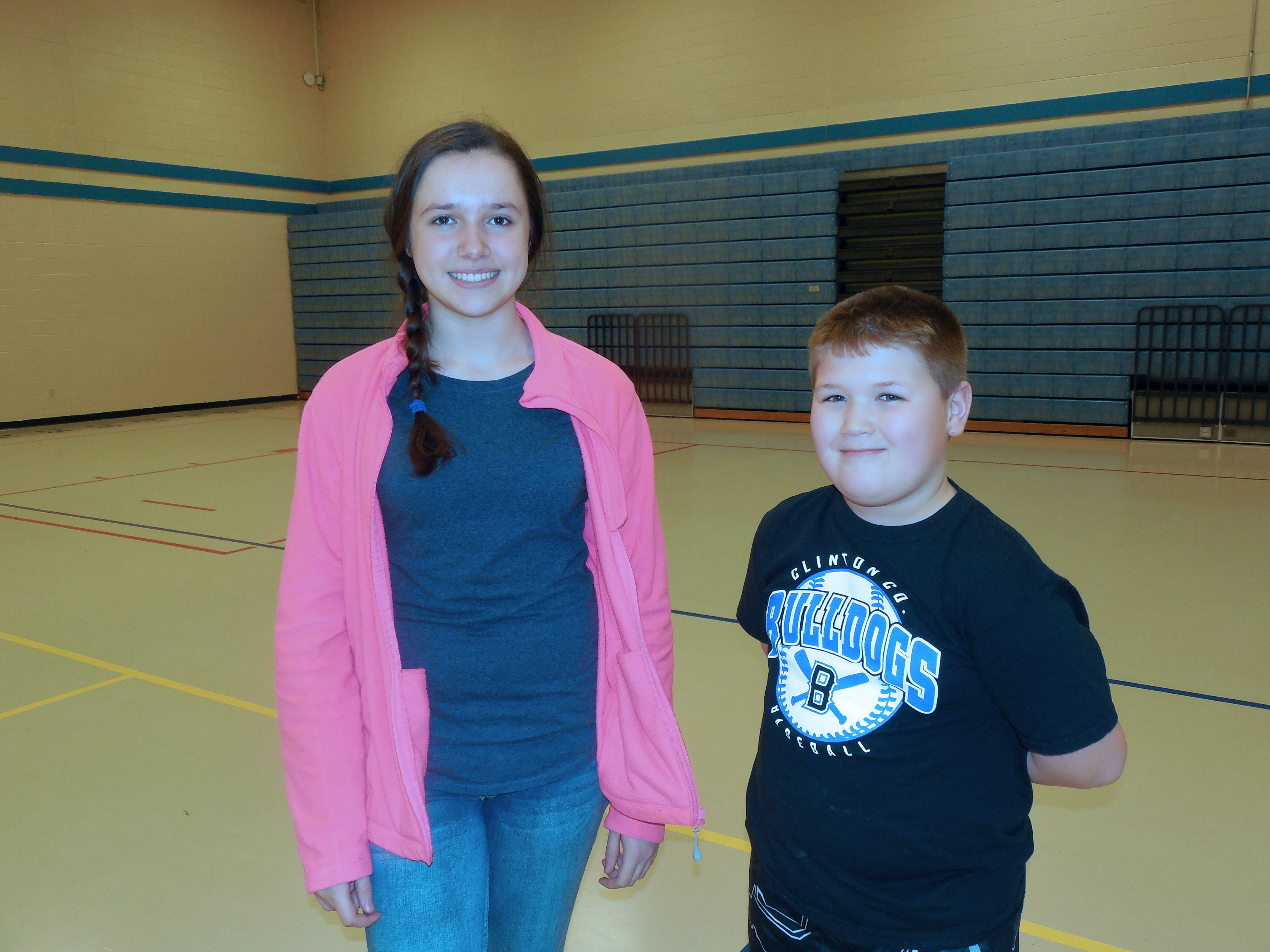During the spring semester, Clinton County Healthy Hometown is partnering CCMS 8th graders with elementary school students to encourage activity and healthy living through Fitness Buddies!