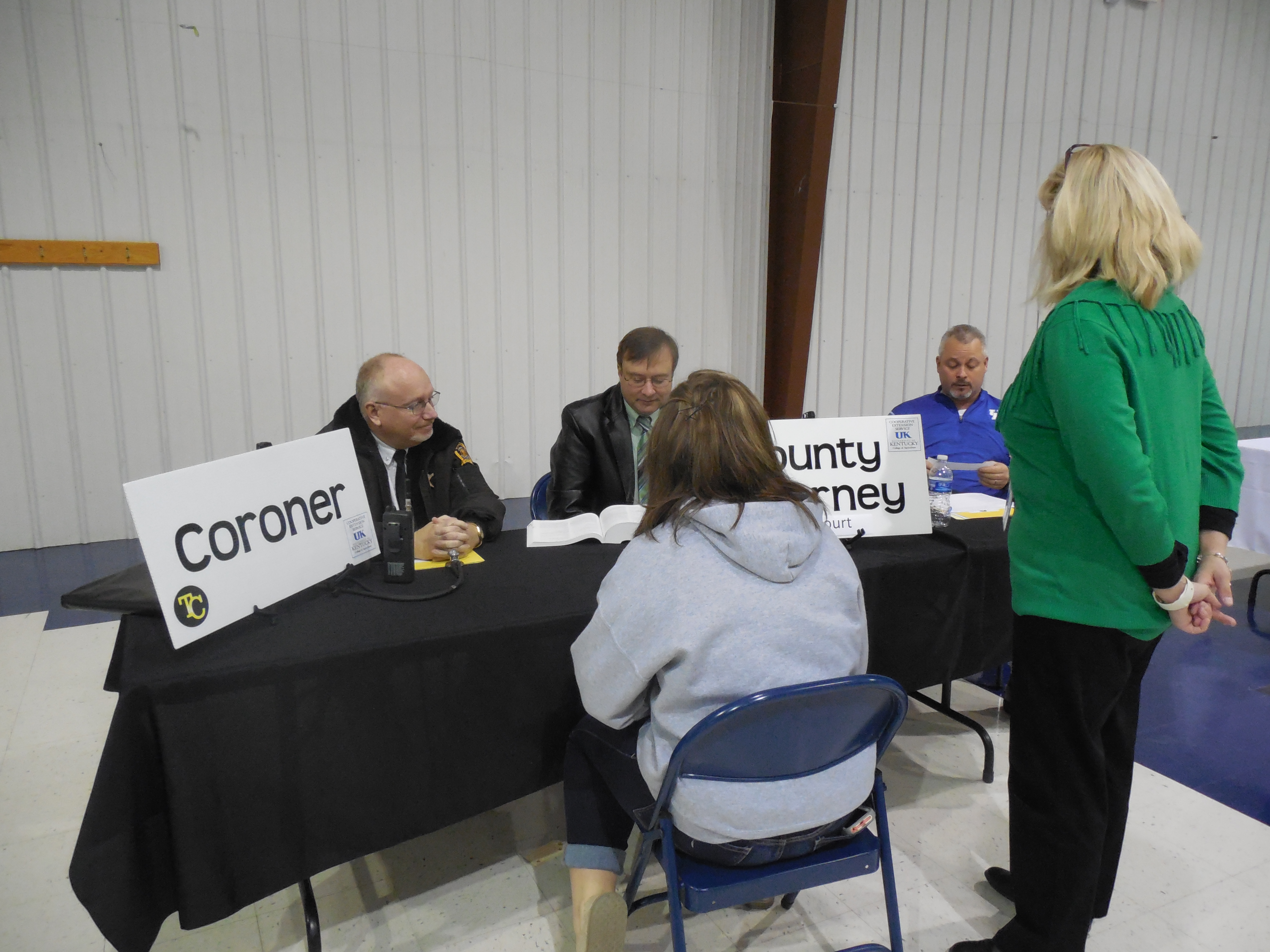 Freshman students at Clinton County High School participated in the Truth and Consequences event on Friday, March 17th.