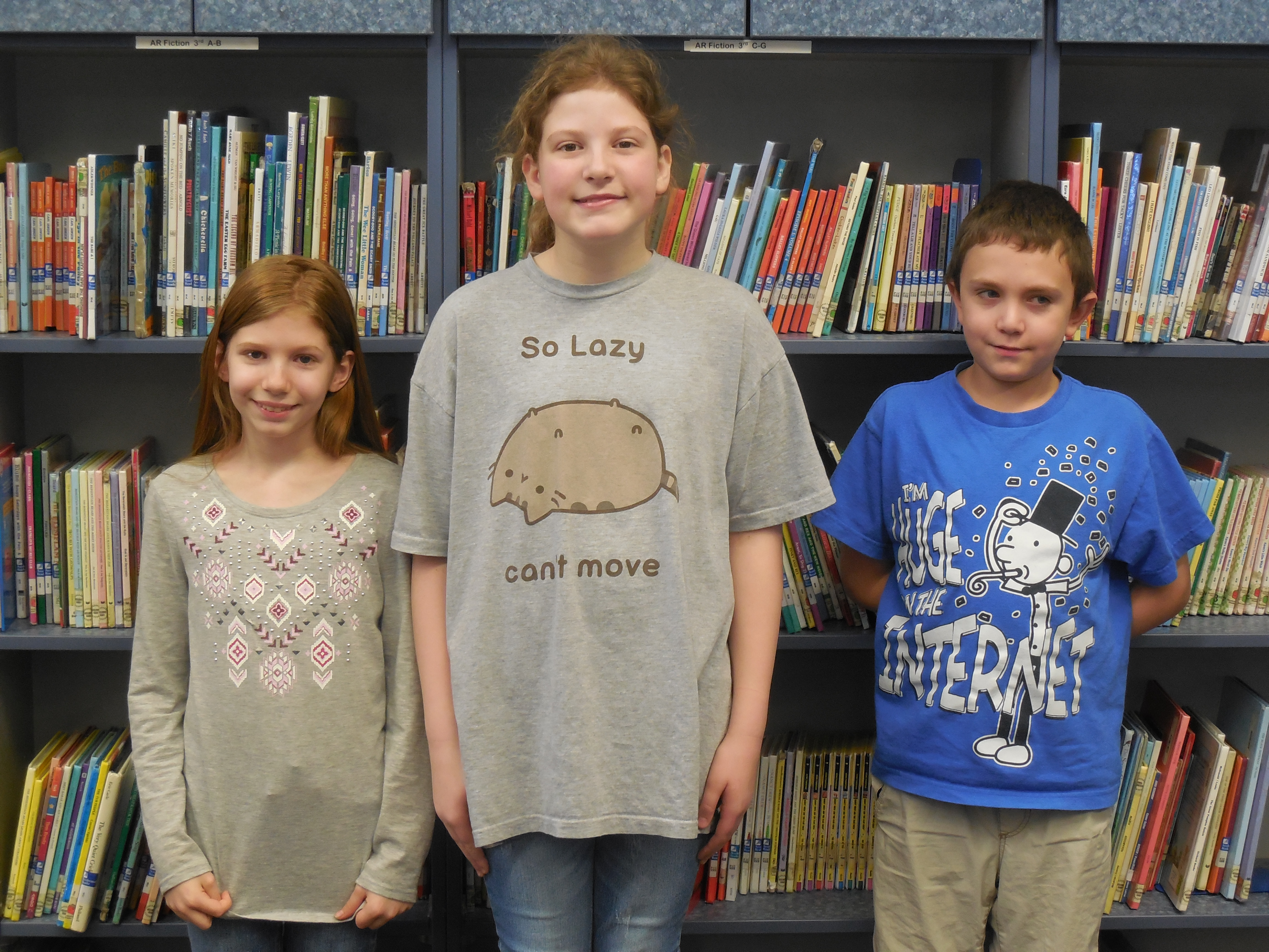 The winning team from the 3rd & 4th grade competition was The Potterheads and Sonic.  Team members include Corinne Beaty, Ella Rose Smith, and Clinton Moreland.