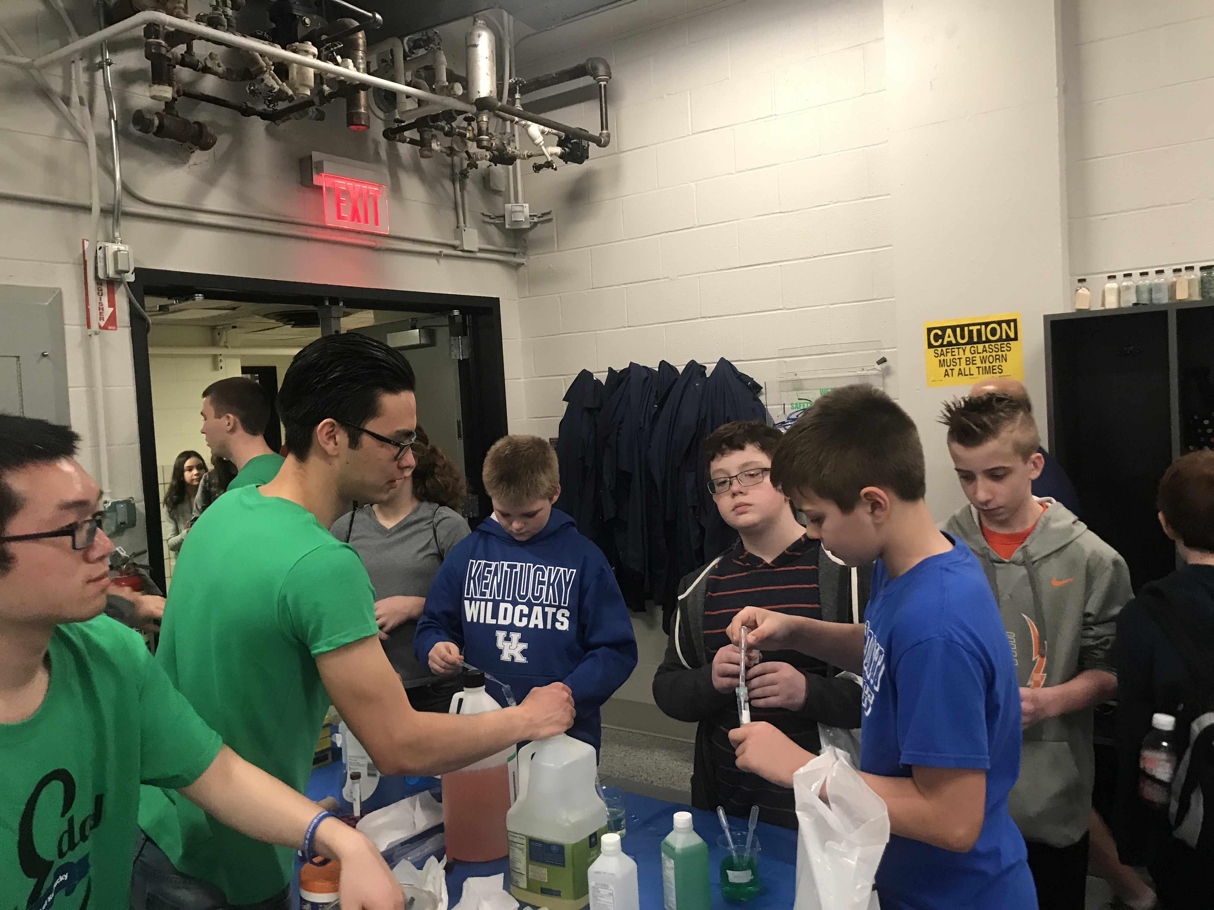 On Saturday, February 24, 2018, Clinton County Gifted & Talented students were transported to Lexington, Kentucky for the 2018 Engineers Day (E-Day).