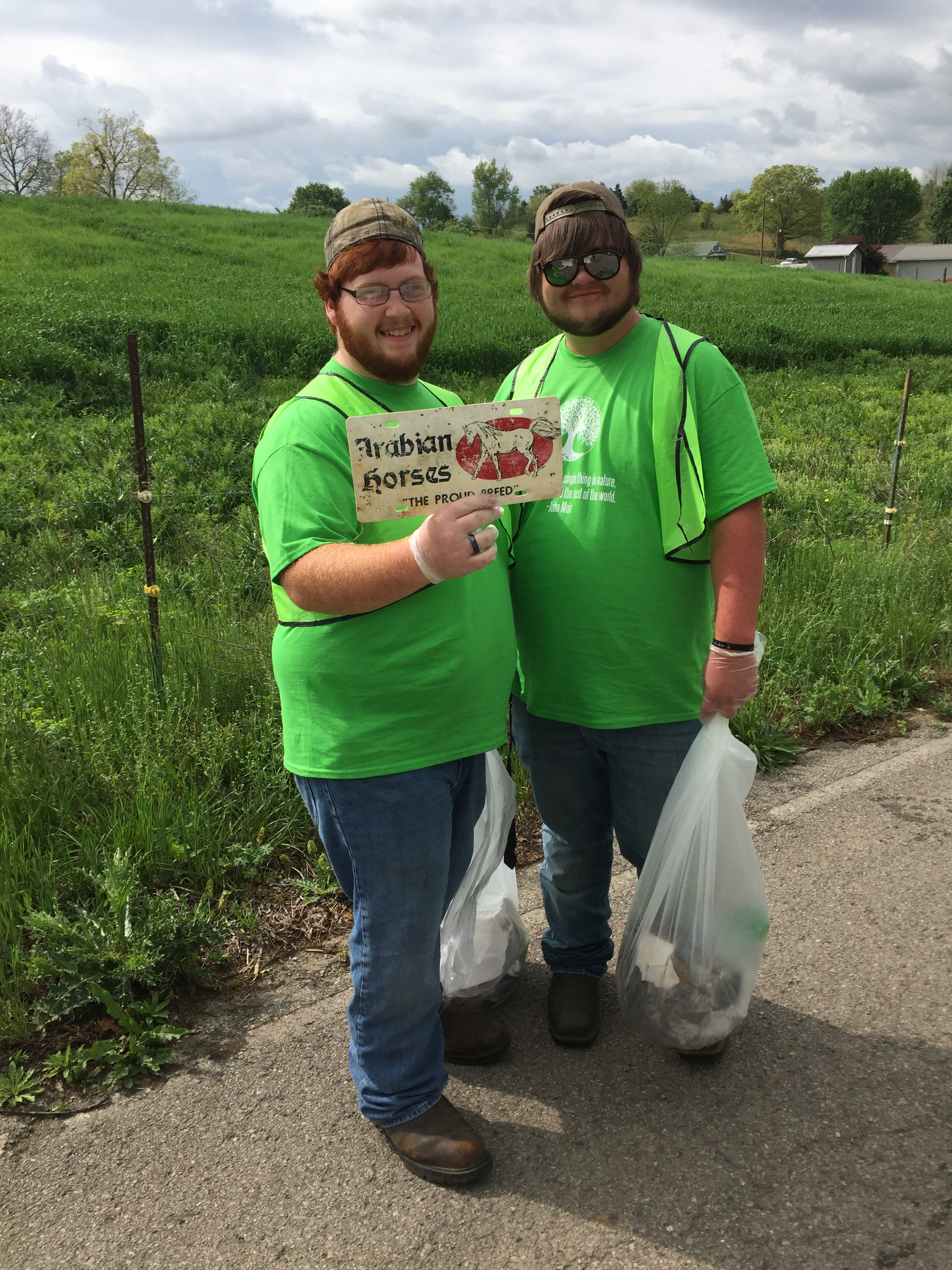 Clinton County High School partnered with Keystone Foods for an Earth Day celebration on Friday, April 21st.