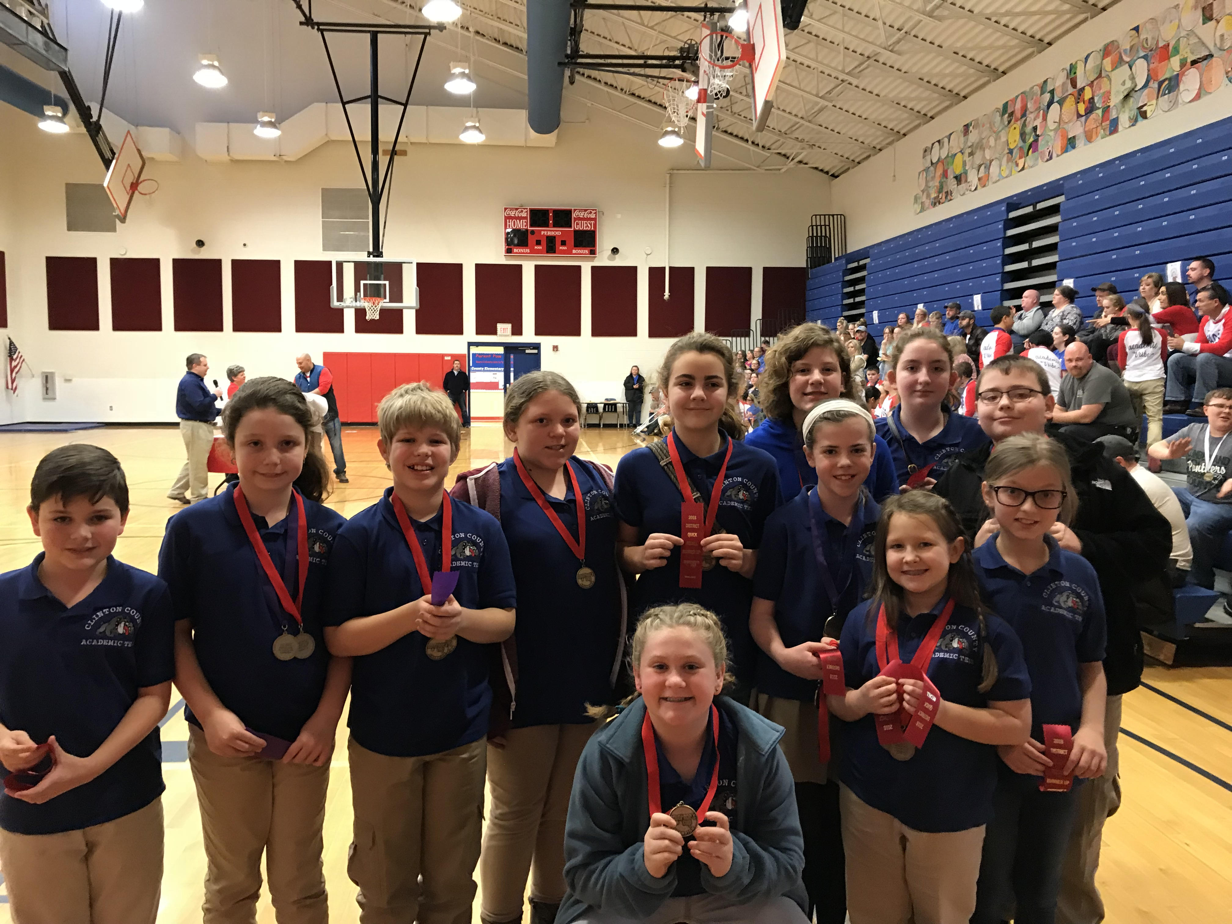Congratulations to the Elementary Academic Team on being Runner-Up in the District 54 Elementary Governor's Cup Competition!