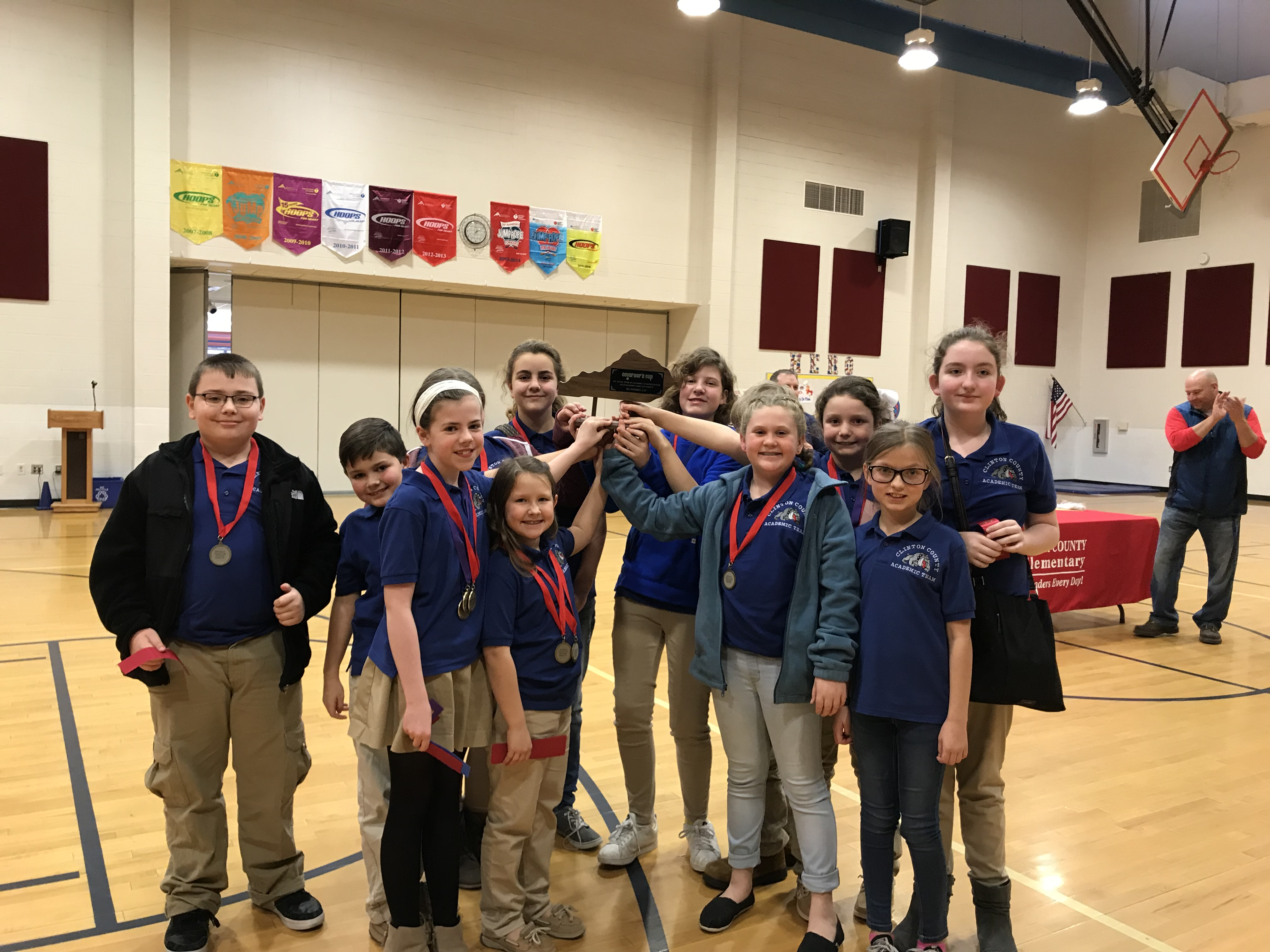 Congratulations to the Elementary Academic Team on being Runner-Up in the District 54 Governor's Cup Competition!