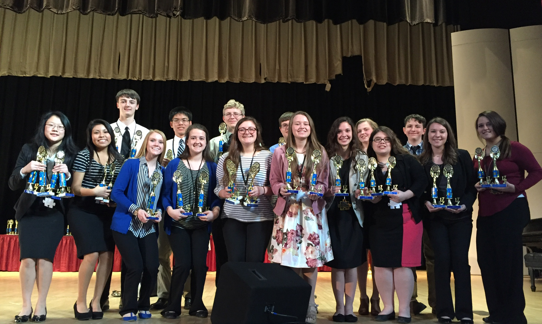 On Thursday, March 9, 2017, thirty-three members of the CCATC FBLA chapter competed at the Regional Leadership Conference.