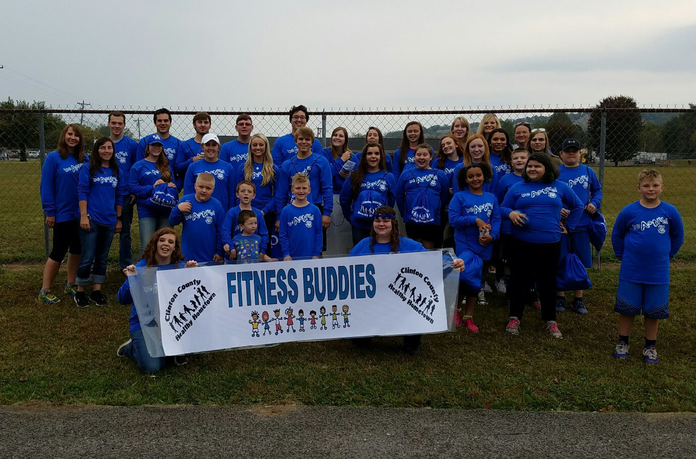 Fitness Buddies is a new program sponsored by Clinton County Healthy Hometown that partners high school students with elementary school students to encourage activity and healthy living!