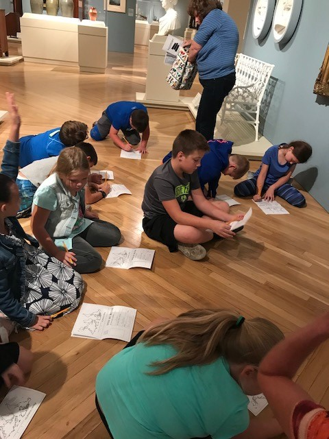 On Friday, October 6th, sudents in the Gifted & Talented program at AES were transported to the Speed Art Museum in Louisville, Kentucky.