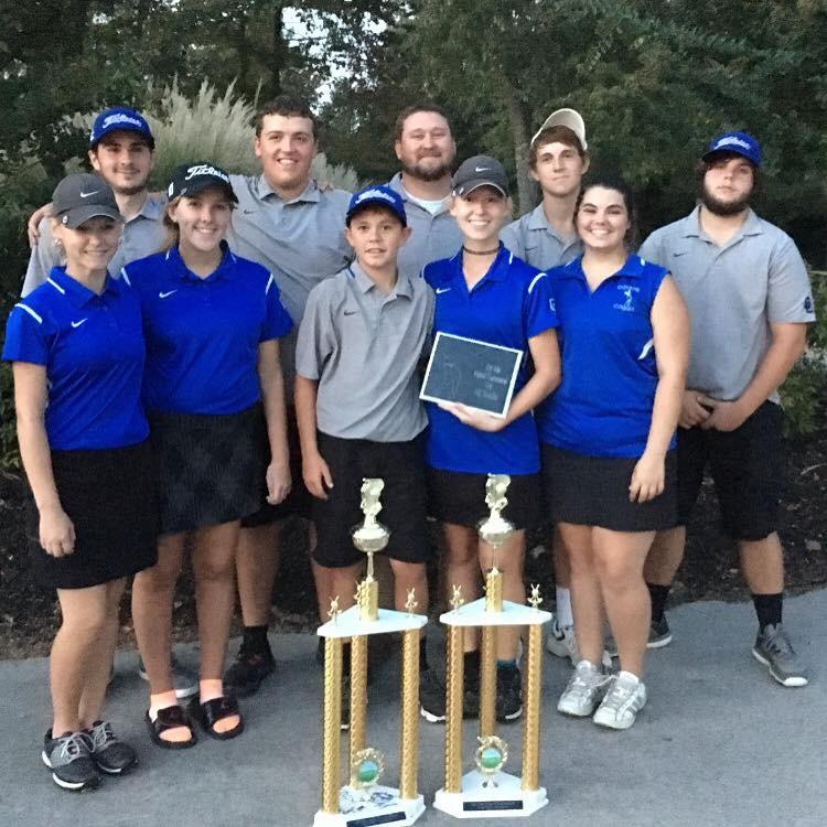 The Clinton County High School Girls and Boys Varsity Golf Teams won the 16th District Tournament on September 15th.
