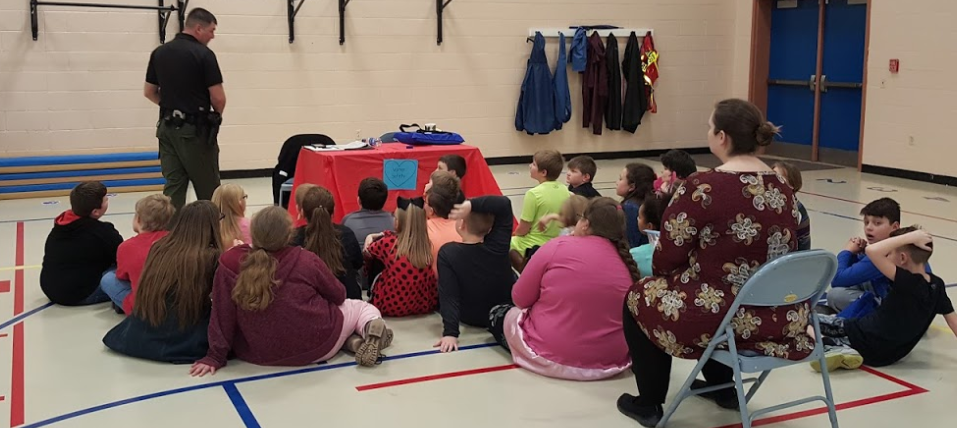 The Albany Elementary School Health Fair was held on February 14, 2018.