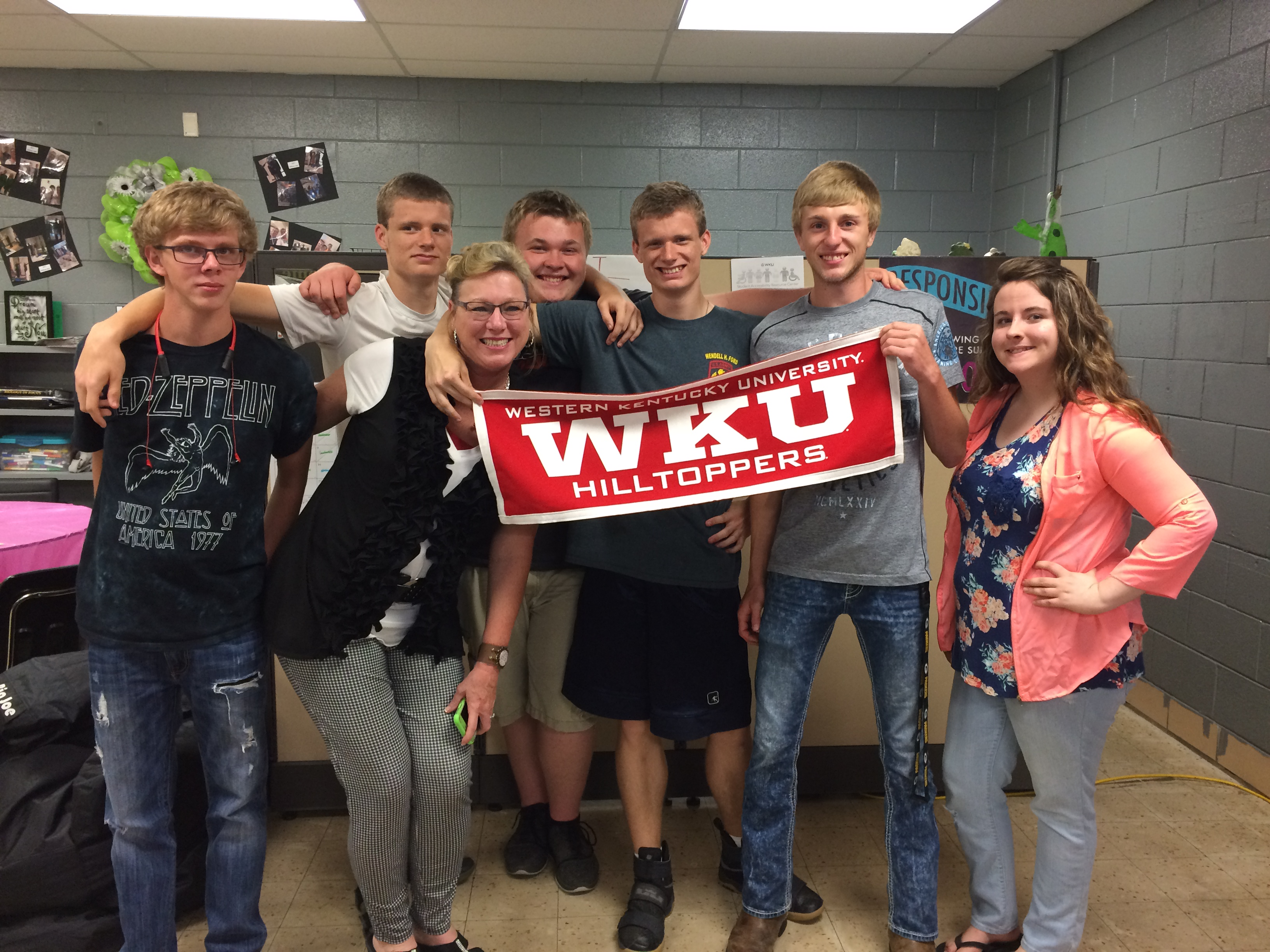 Six Clinton County High School students earned one credit hour from Western Kentucky University for completing the online course College & Career Explorations.