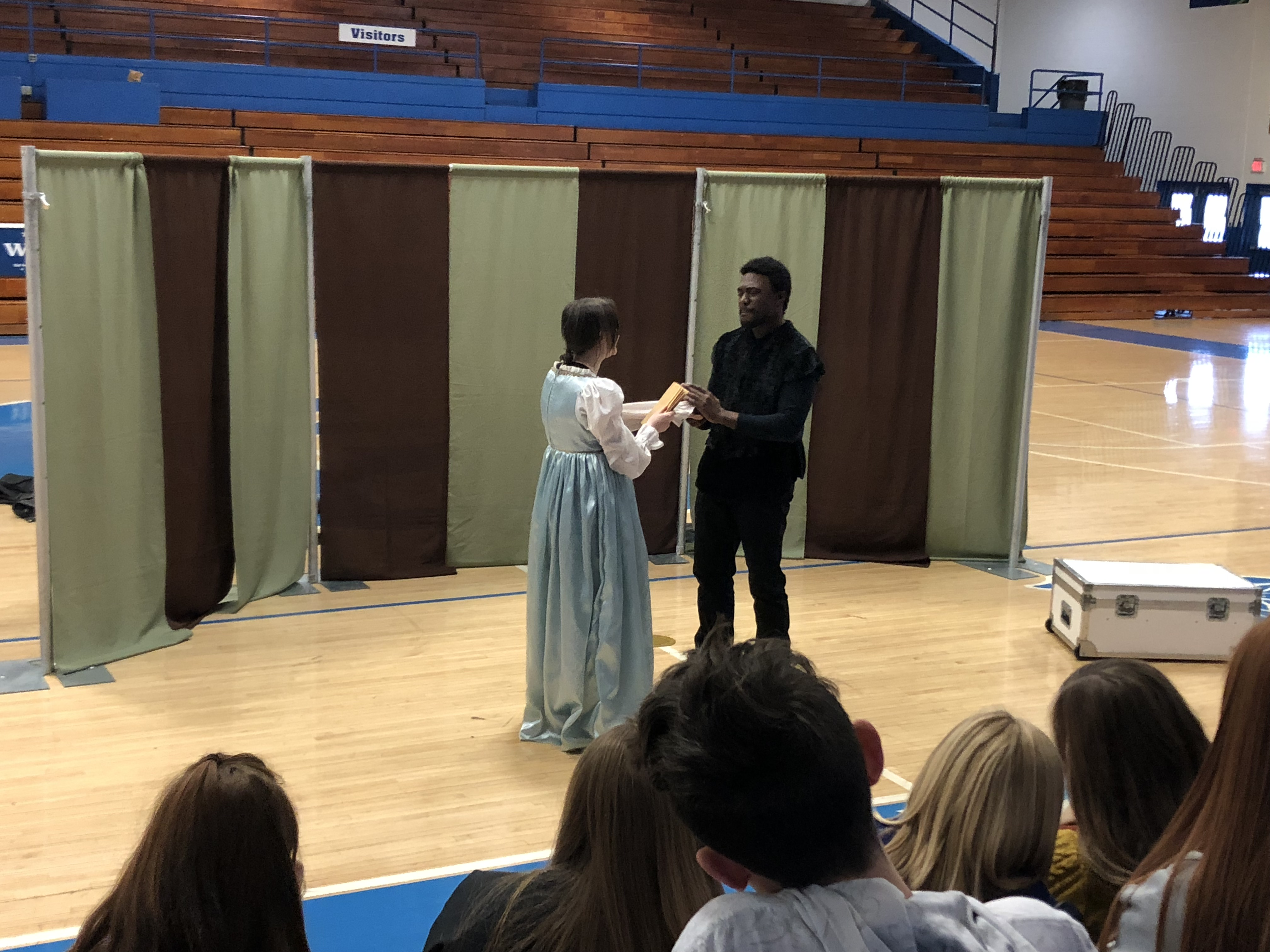 On Friday, December 8, 2017, Gifted & Talented students at AES, CCMS, and CCHS participated in workshops with Kentucky Shakespeare.