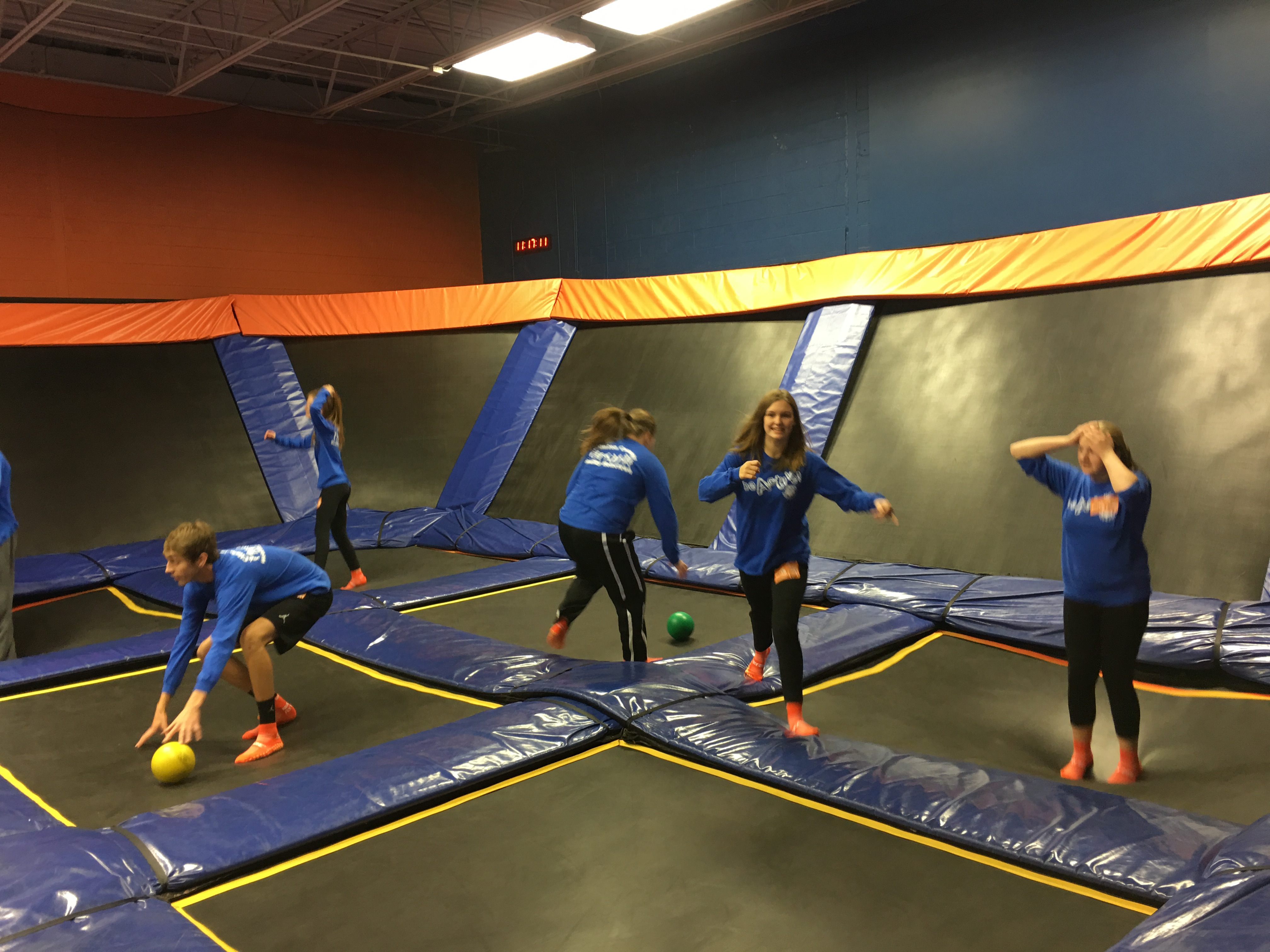 Healthy Hometown Fitness Buddies were rewarded for their hard work with a trip to Sky Zone in Lexington on Friday, December 8, 2017.