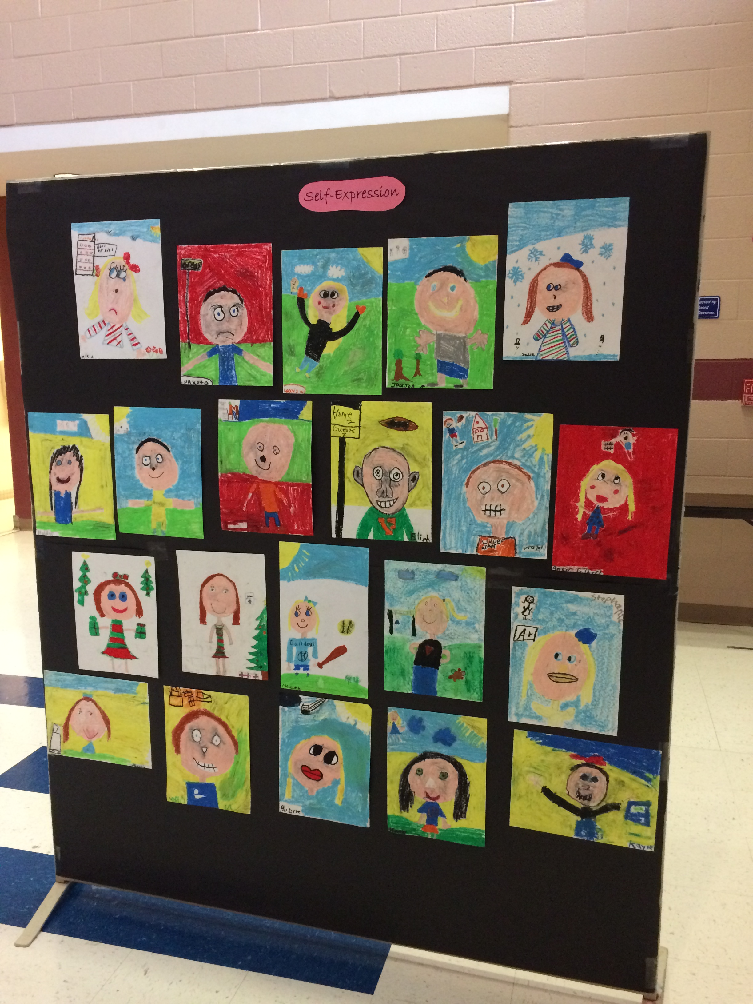 Artwork was displayed by the classes of Ms. Tammie Conner, Ms. Carolyn Brown, Ms. Kim Dicken, & Mr. Adam Davidson.