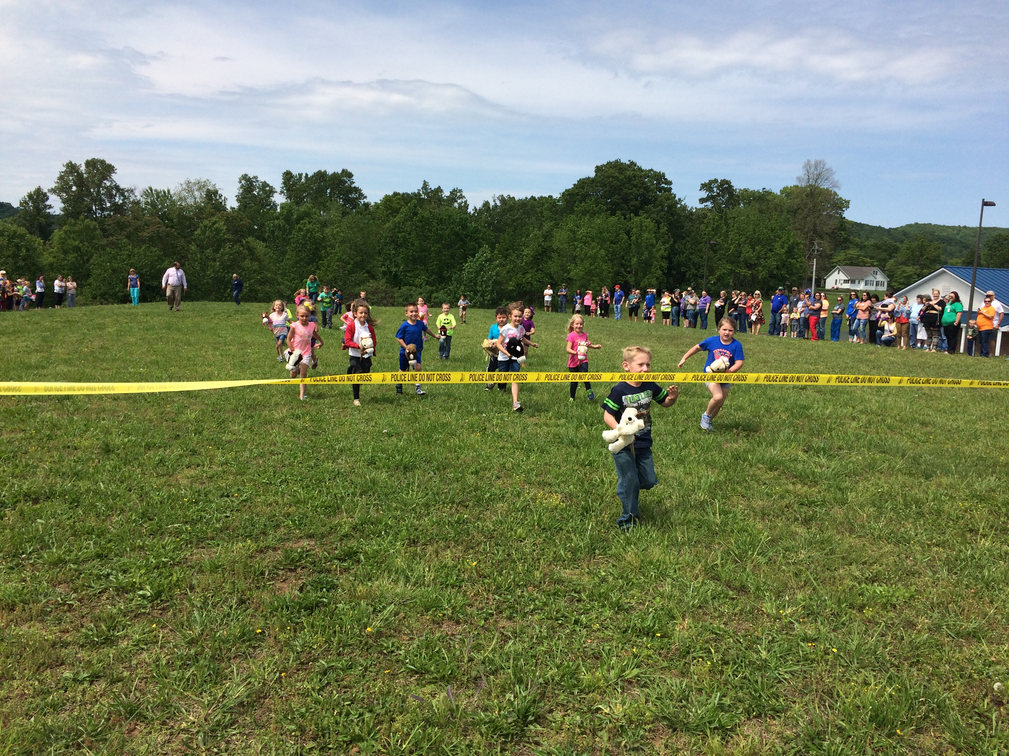 Stick horses were everywhere at the annual Kindergarten Little Kentucky Derby at the Early Childhood Center on Monday, May 8th.