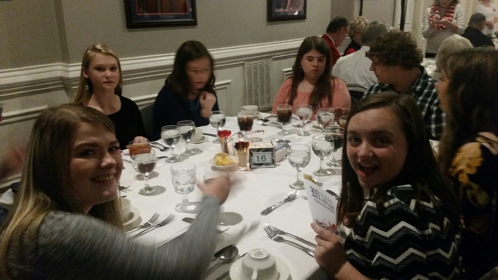 The CCHS History Club attended the annual Madrigal Dinner at the University of the Cumberlands on December 1st.