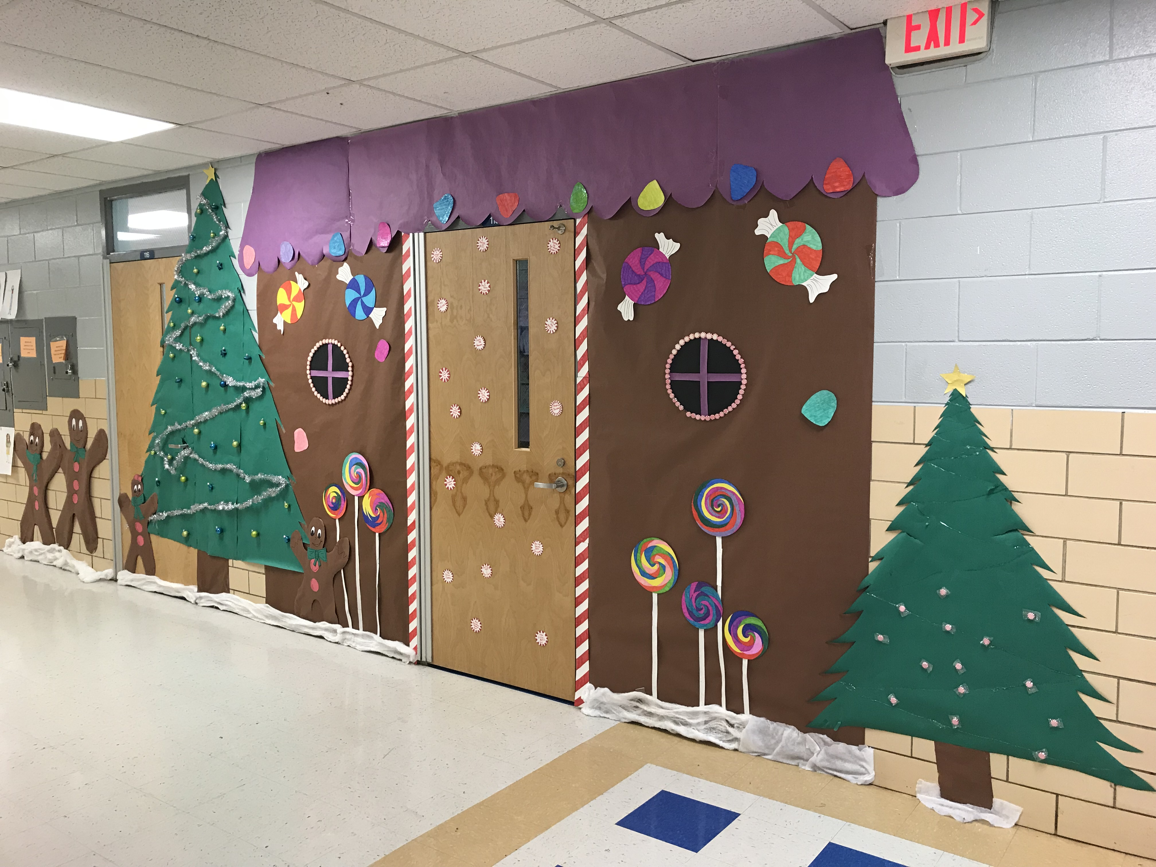 "CCHS really did ""Deck the Halls"" this year!"