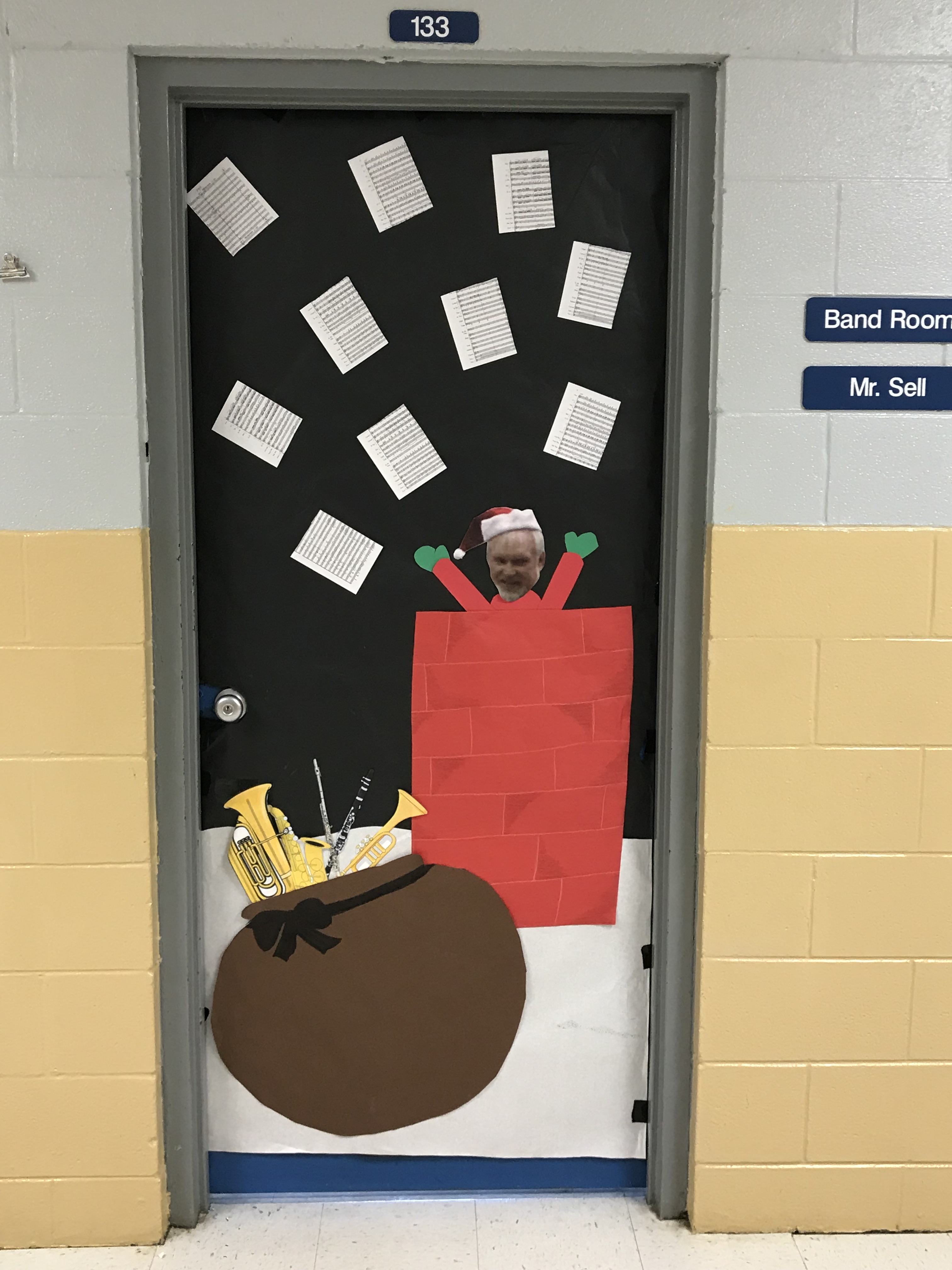 "Faculty and students at Clinton County High school really did ""Deck the Halls"" this year."