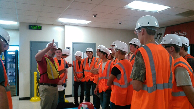 On September 27, 2017, the Industrial Maintenance students from Clinton County ATC participated in an industry tour of Toyotetsu America Inc. (TTAI).