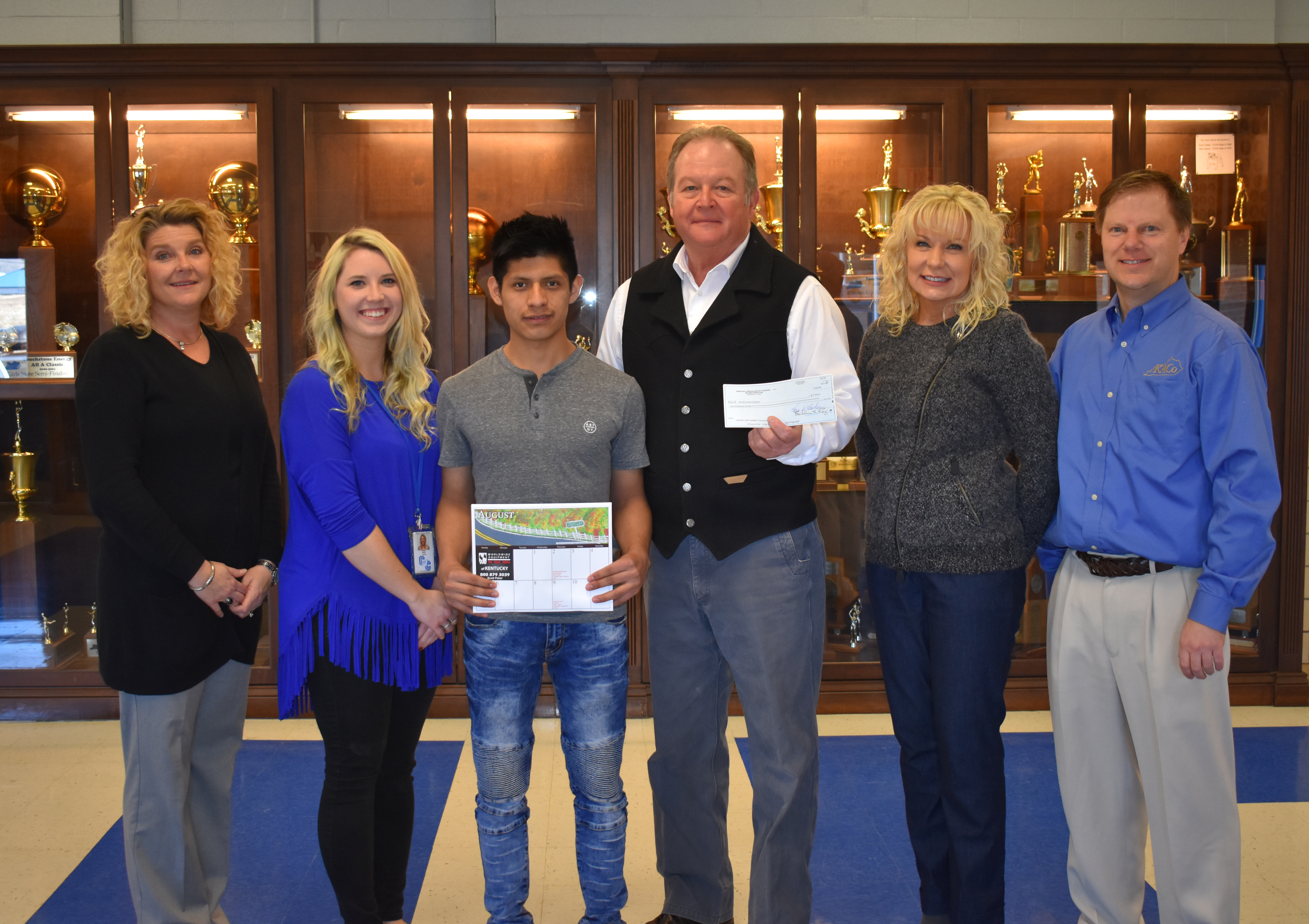 CCHS senior Felipe Lopez-Jacinto is one of thirteen students across the state whose original artwork will appear in the Kentucky Association of Counties 2018 calendar.