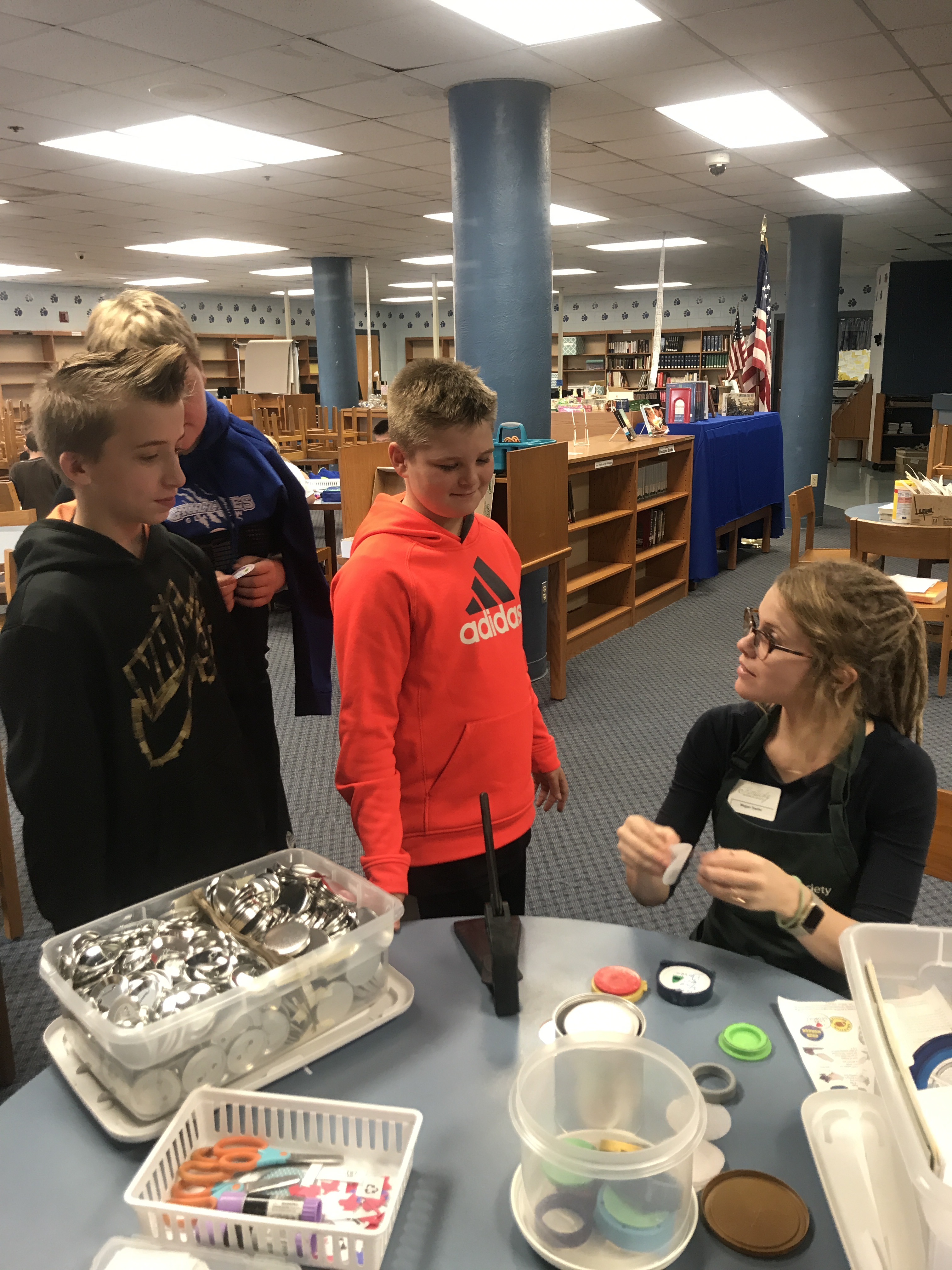 On Thursday, November 16th, AES and CCMS students in the Gifted & Talented Program participated in the History smArts Outreach Program.