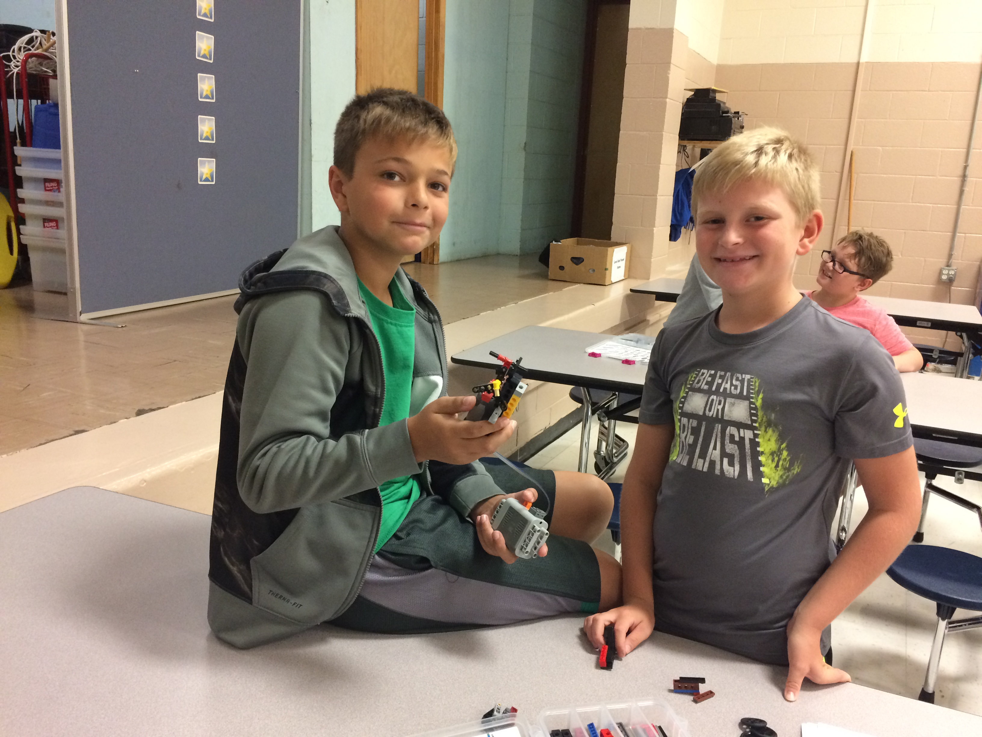 On Wednesday, September 13th, AES & CCMS students had the opportunity to participate in a STEM workshop based upon the use of LEGO® blocks during an outreach program with Bricks 4 Kidz.