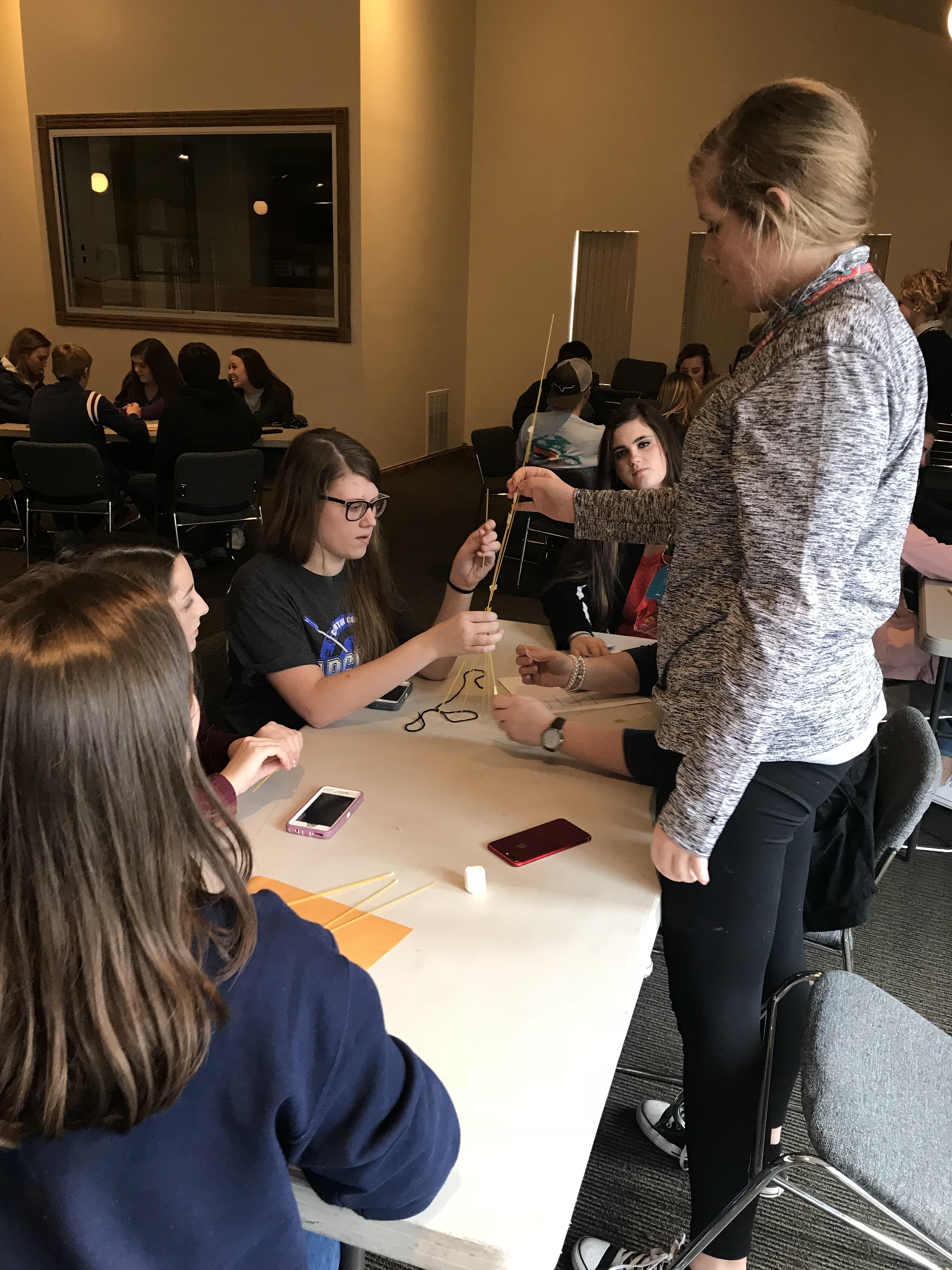 Clinton County High School 9th & 10th grade students toured Lindsey Wilson College on Friday, February 16, 2018.