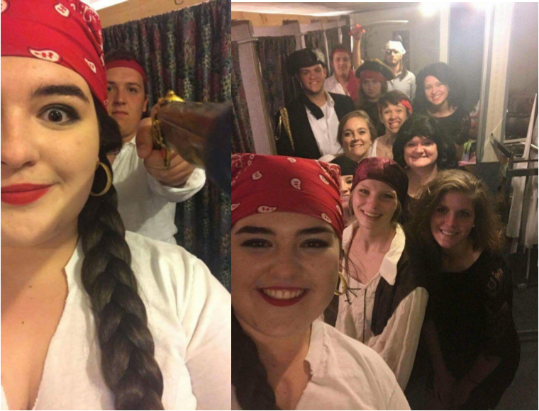 On Monday, May 15th, the students in Mrs. Angela Sloan's Dual Credit English 102 class at Clinton County High School performed Macbeth at Good Neighbor's Theatre.