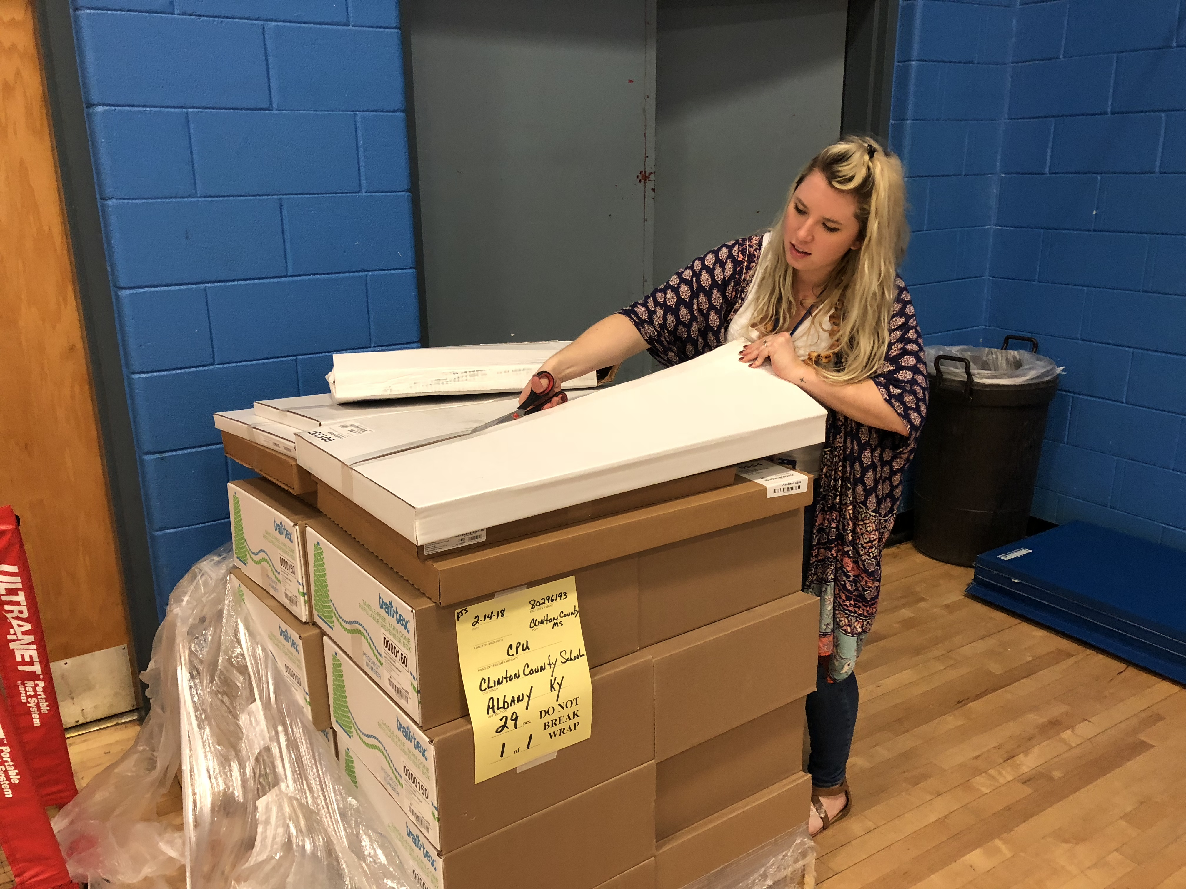 The CCMS Library Media Center will be the home for a new Makerspace, thanks to a $1,600 grant written by CCMS art teacher Presley Sutton.