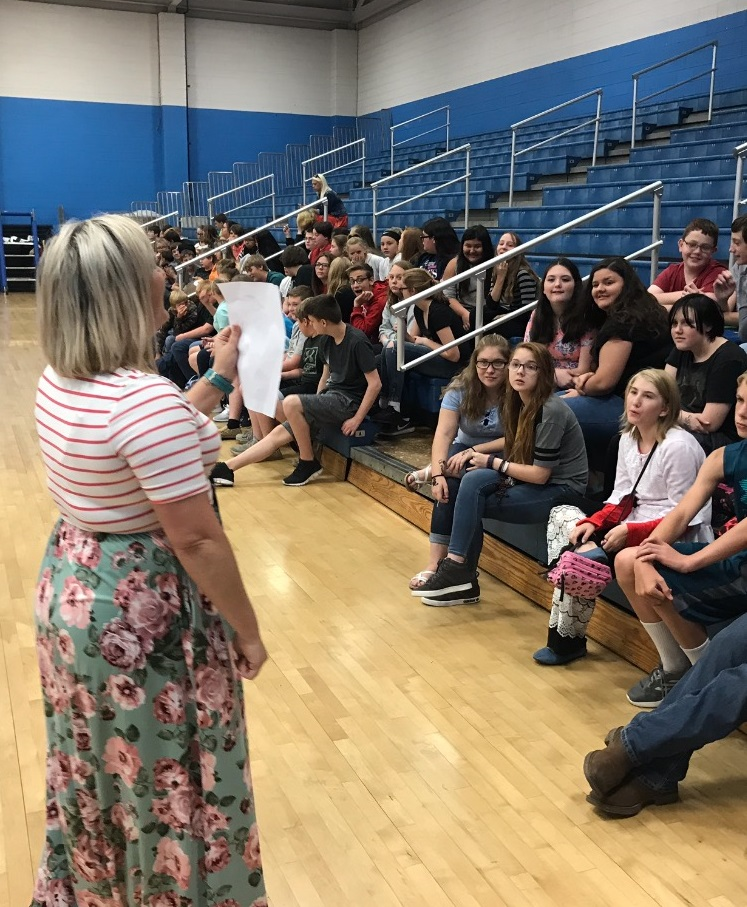 Wednesday, September 5th was the kick-off of Mental Health Days at CCMS!